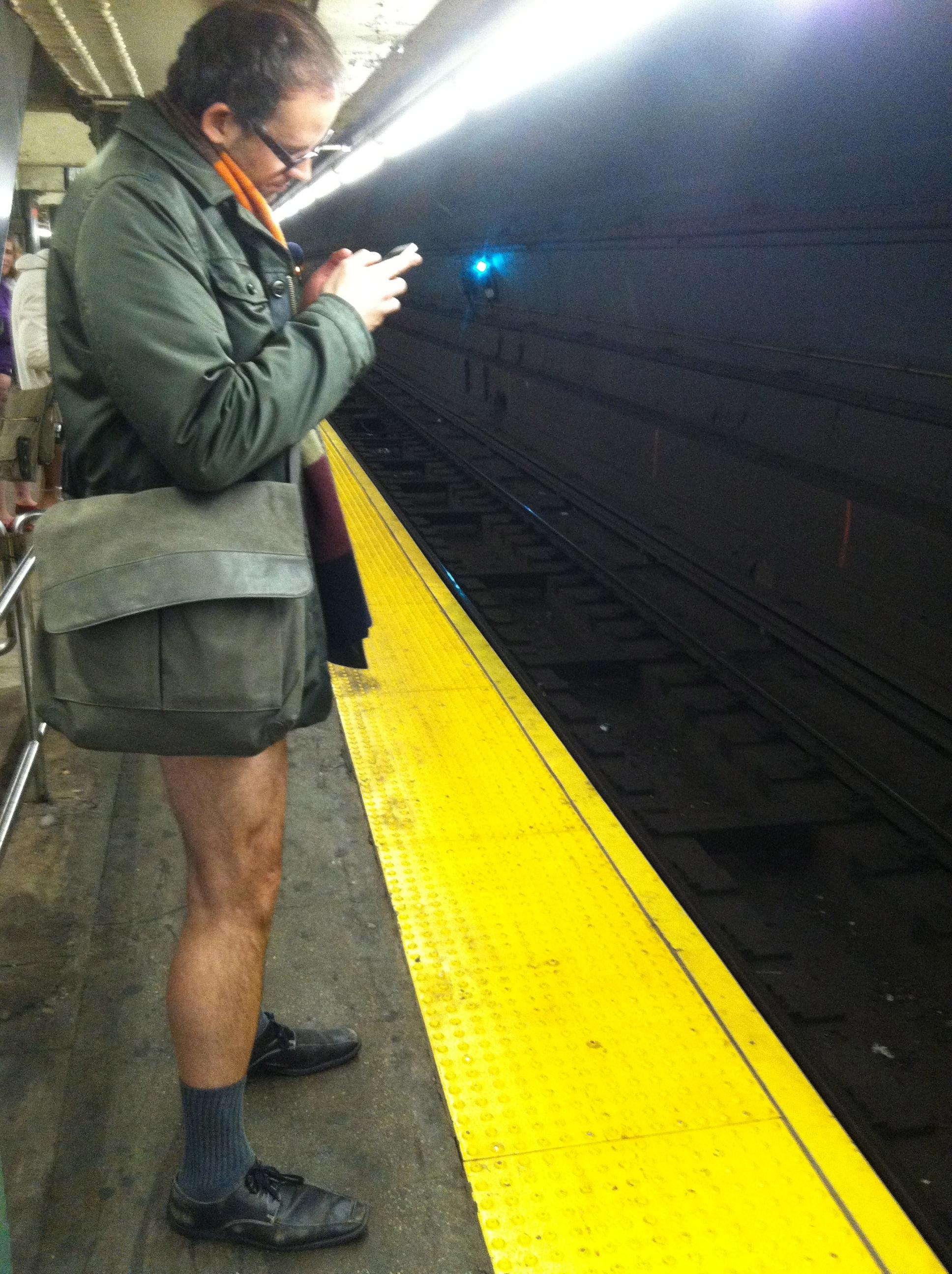 No Pants Subway Ride 2013