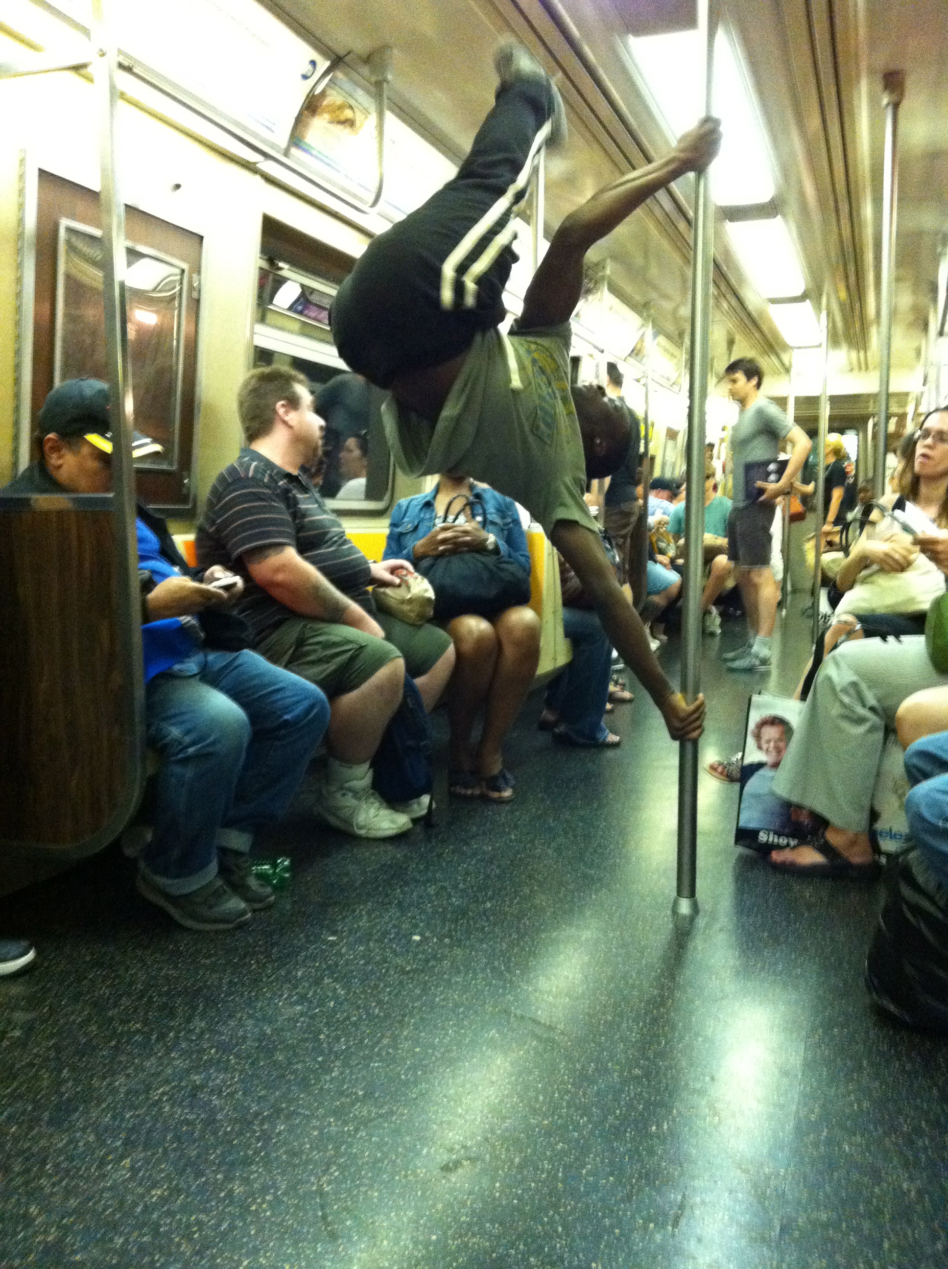 A day in the life: Street dancing on the subway