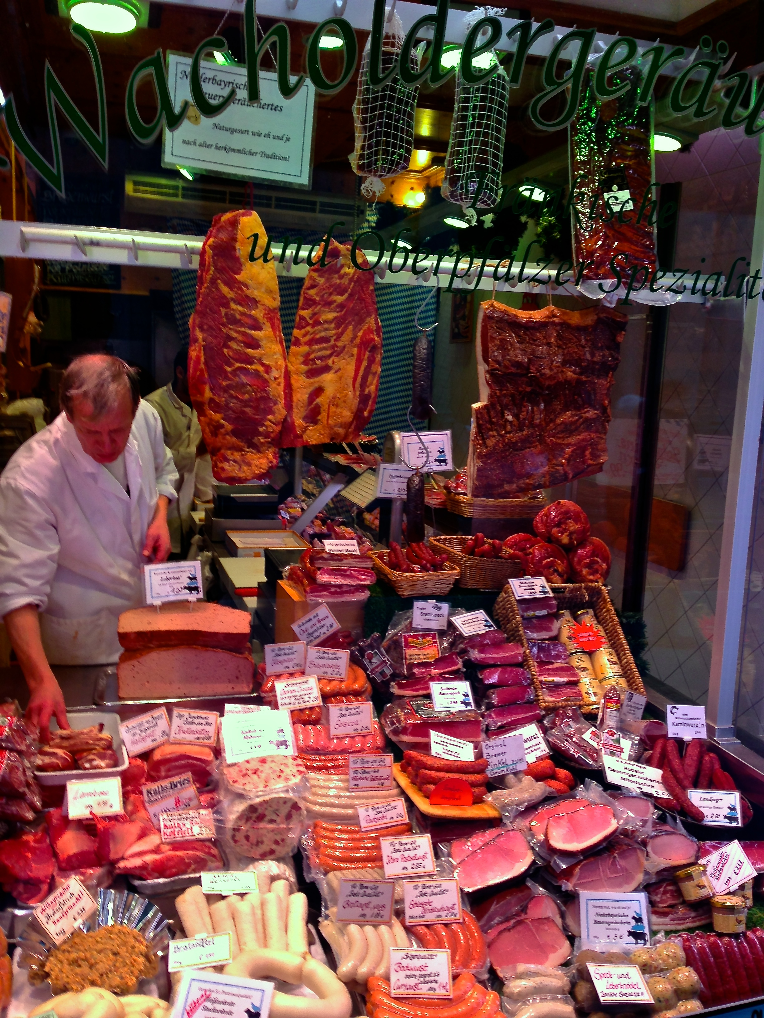 Munich meat market