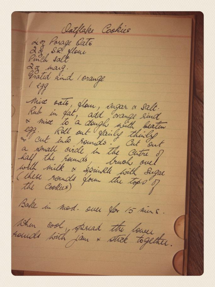 Granny's Recipe Books
