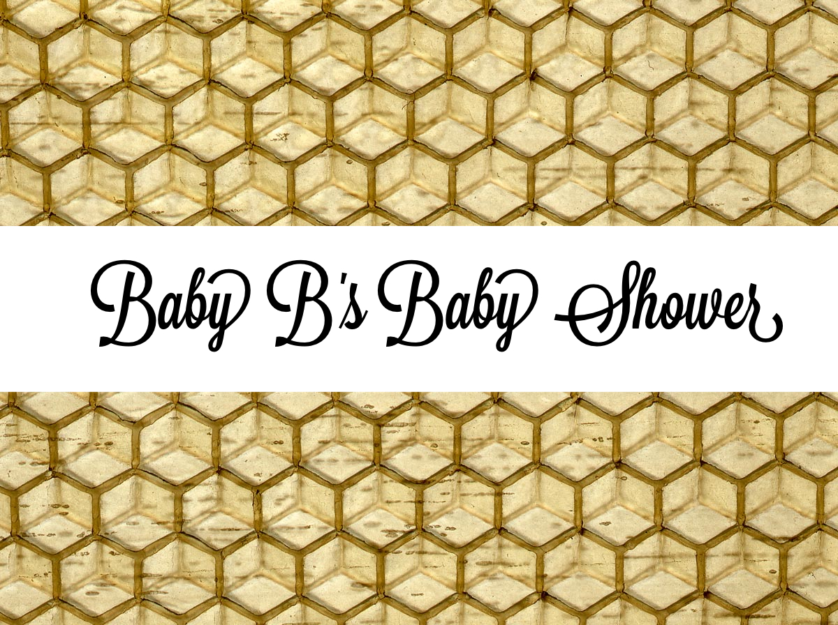 Baby B Baby Shower header