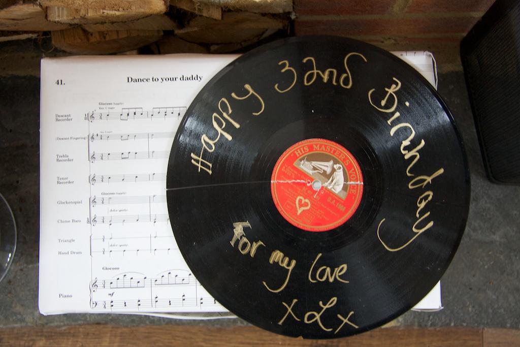 Dada Birthday Gift - Record Tag