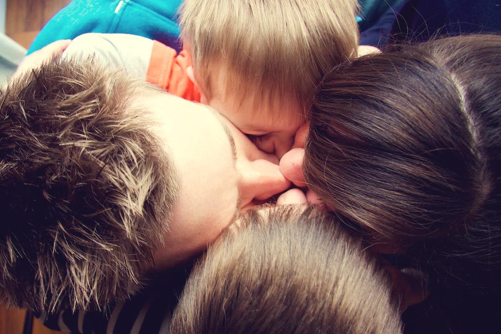 Me & Mine February All Together Kiss @capturebylucy