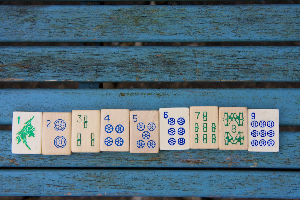NYC Day 2 - Wooden Number Blocks