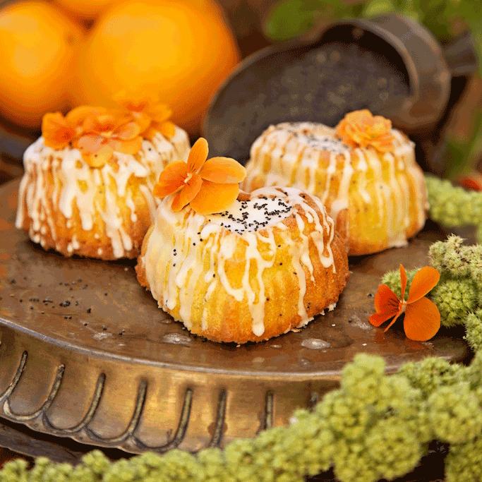Orange Blossom Cakes