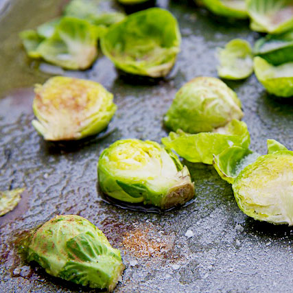 Baked Sprouts