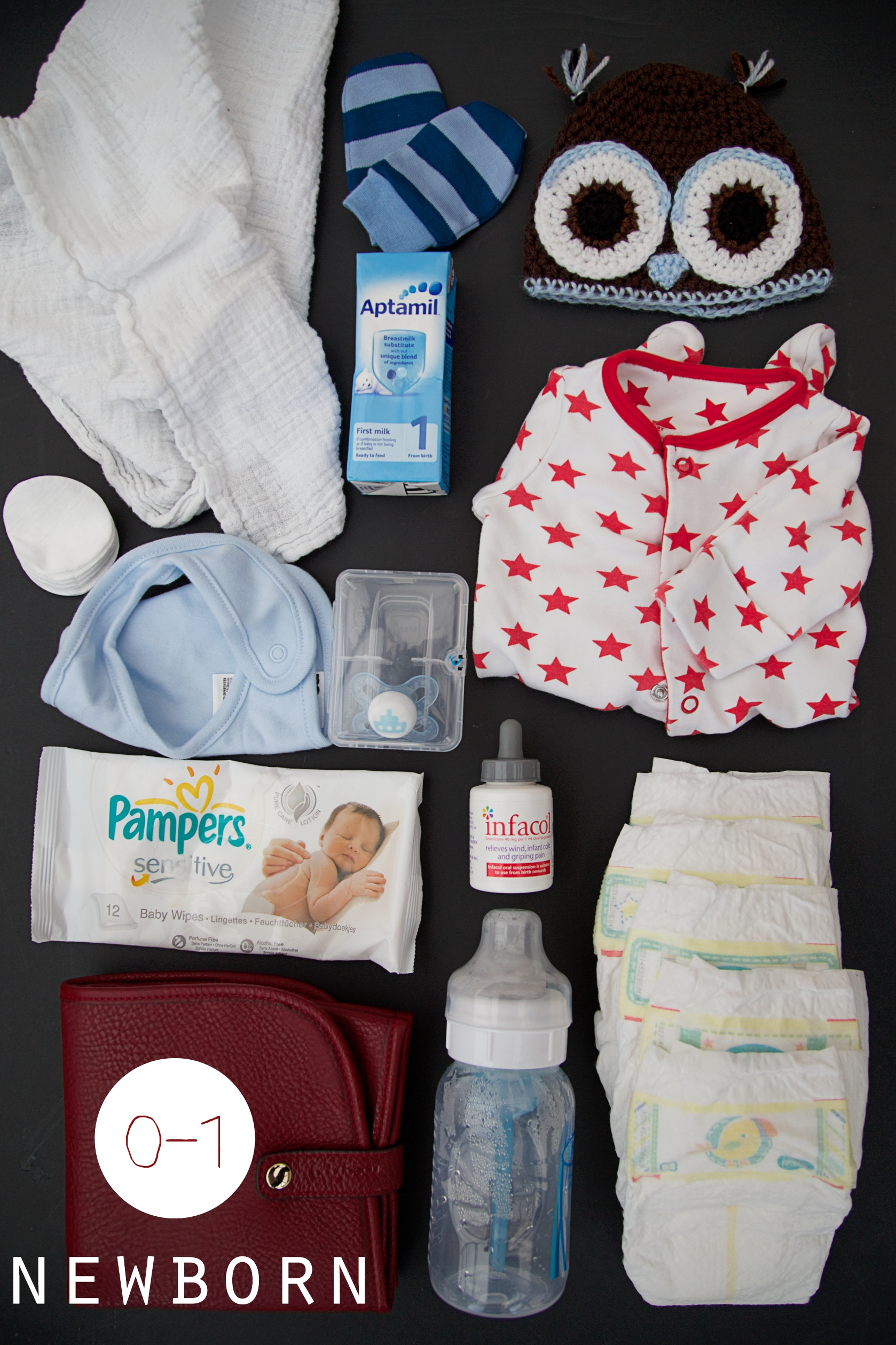 newborn changing bag essentials