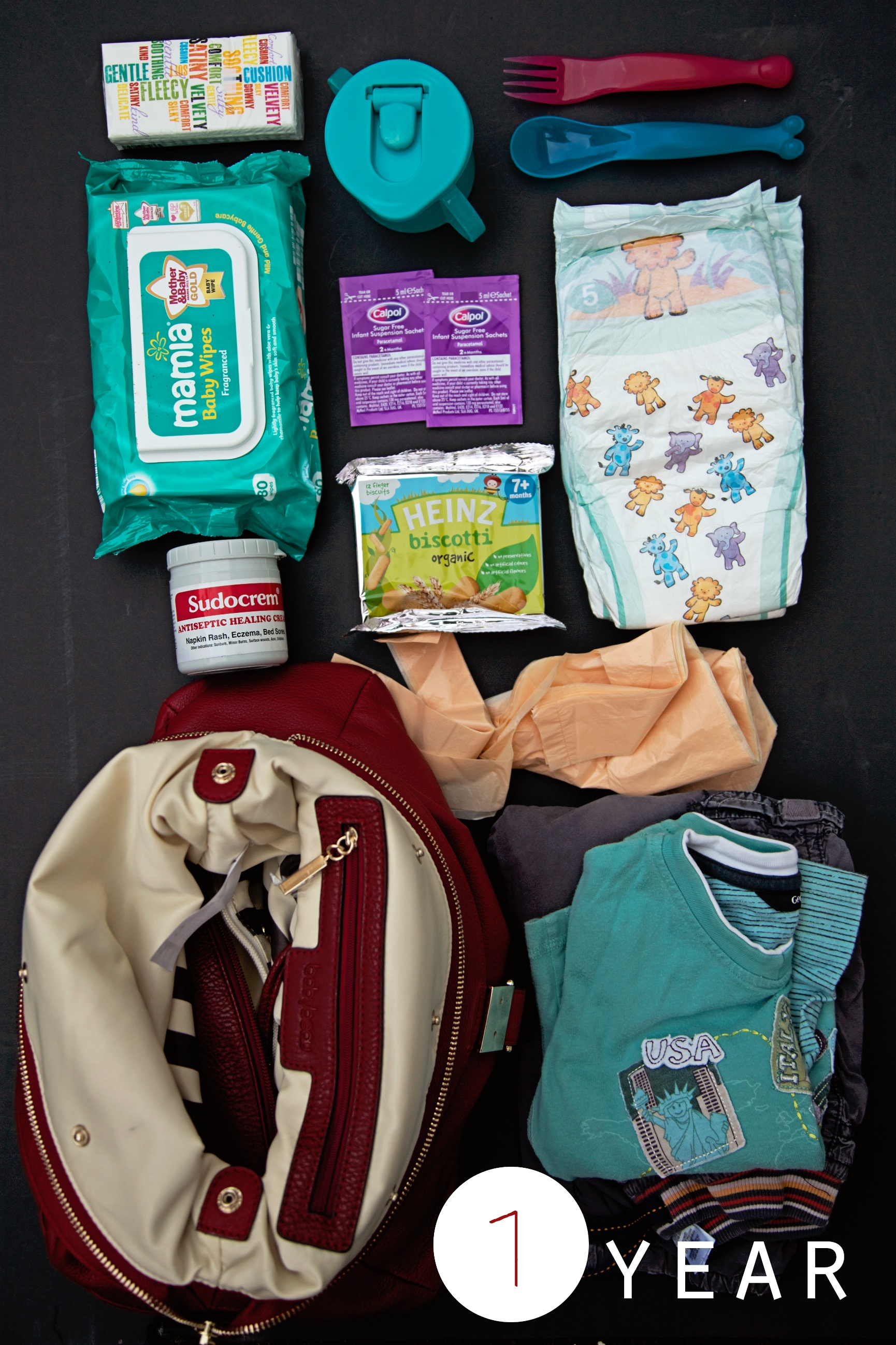 what to put in your changing bag
