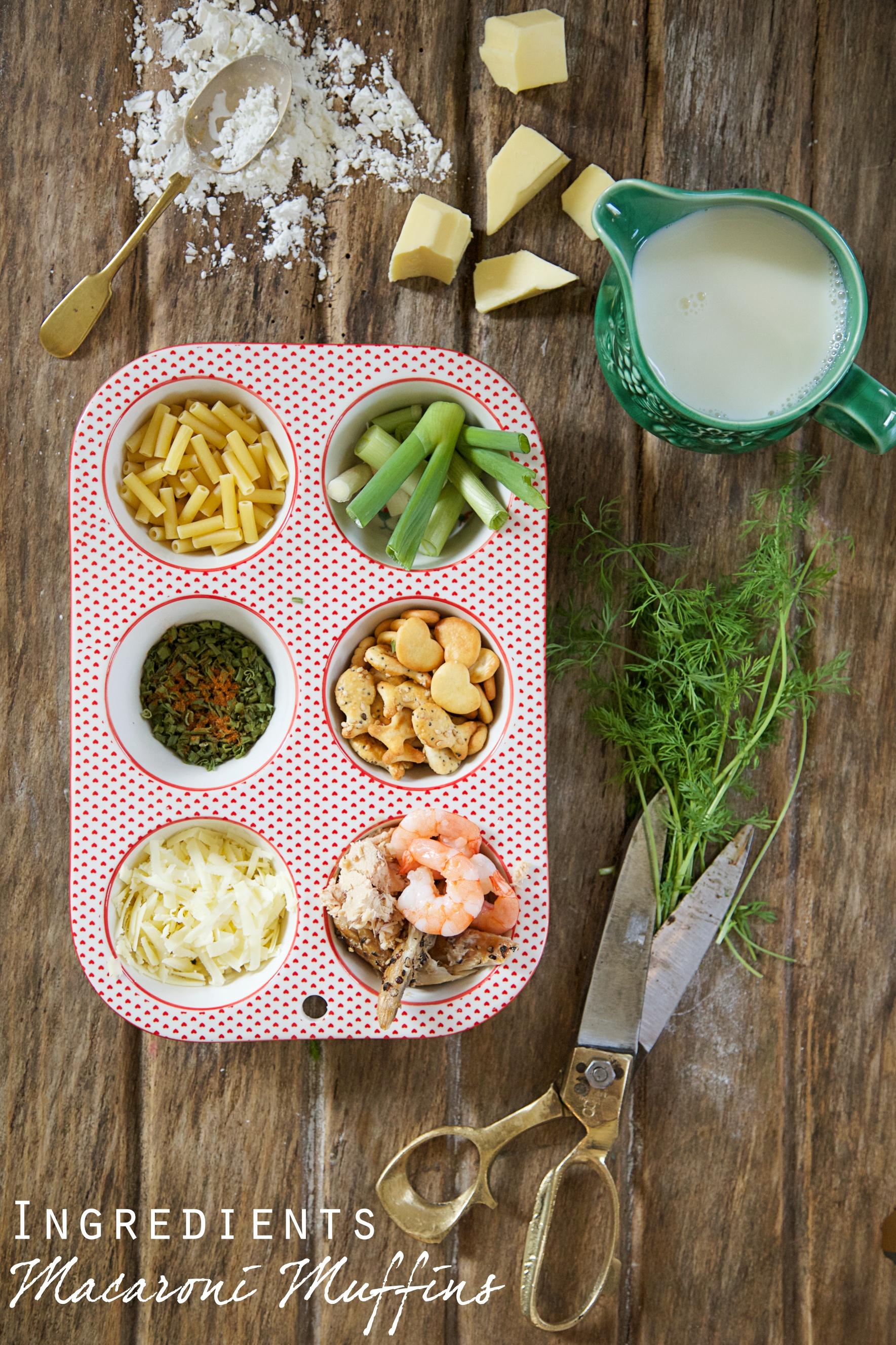 Seafood Macaroni Ingredients