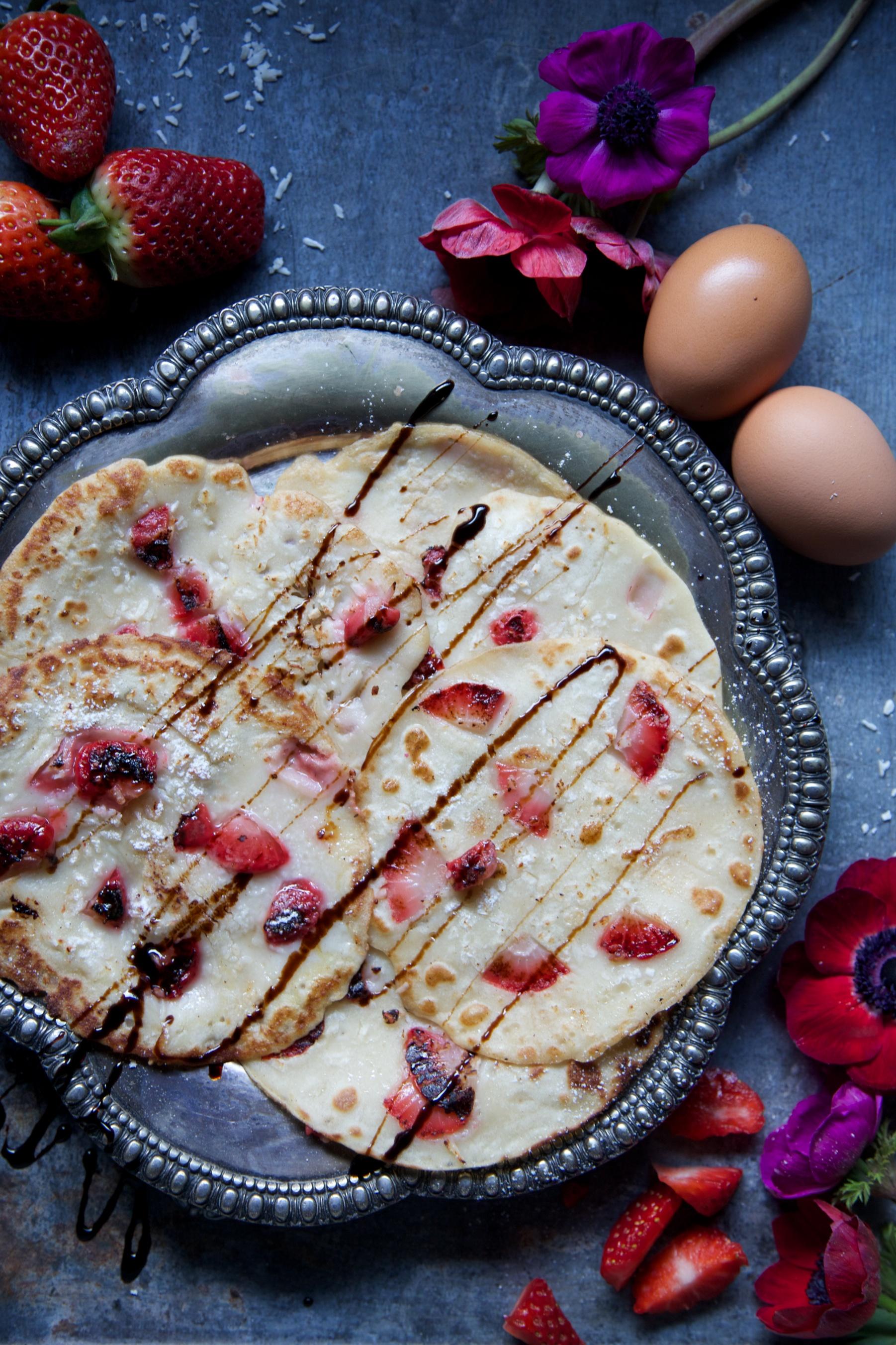 Pancake batter recipe