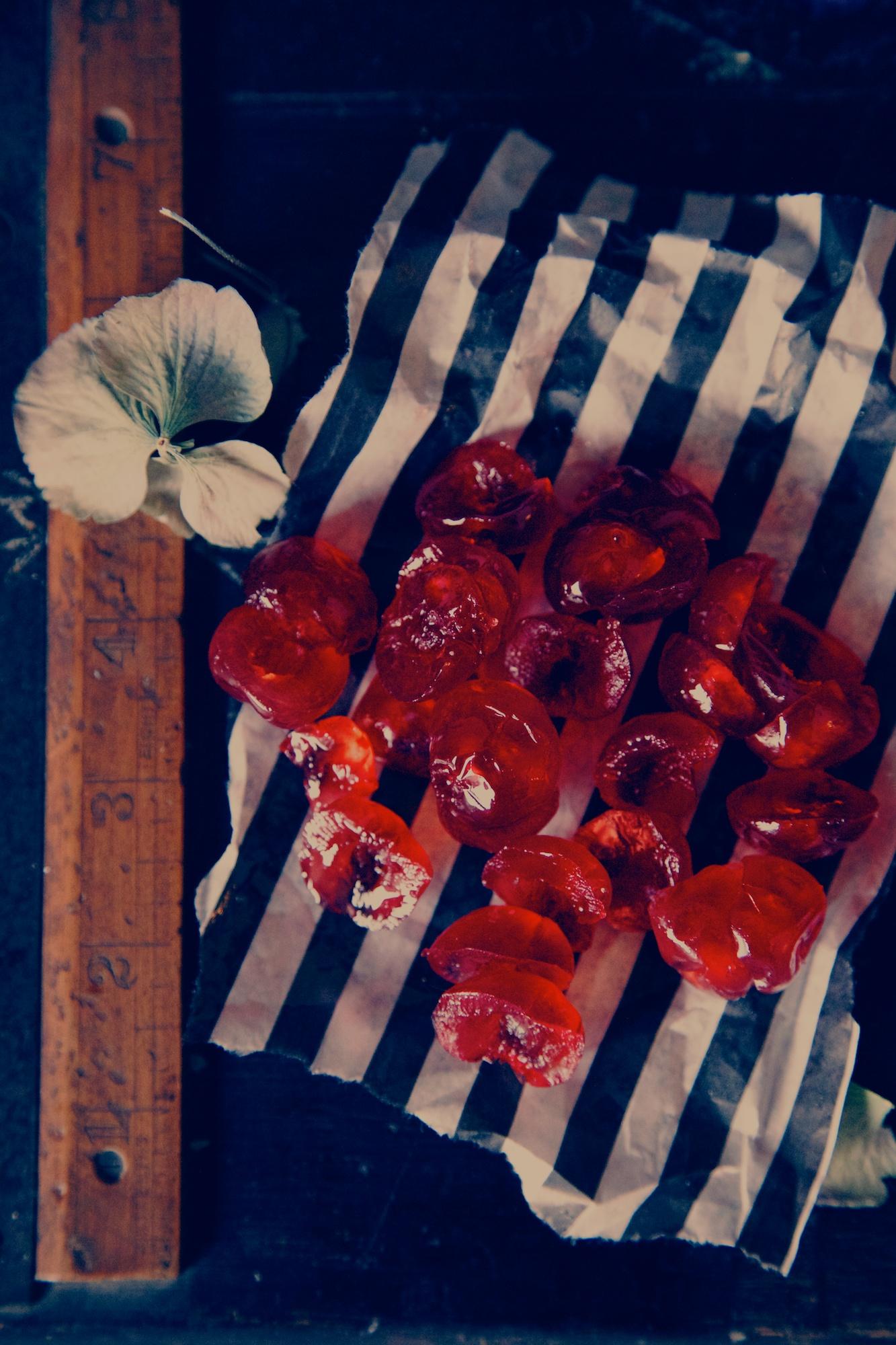 glace cherries