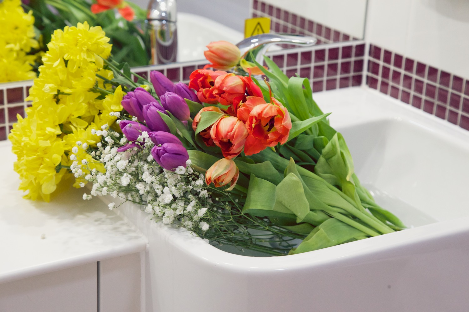 How to store flowers