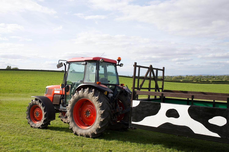 Tractor ride