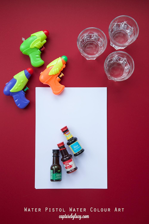 Water Pistol Art