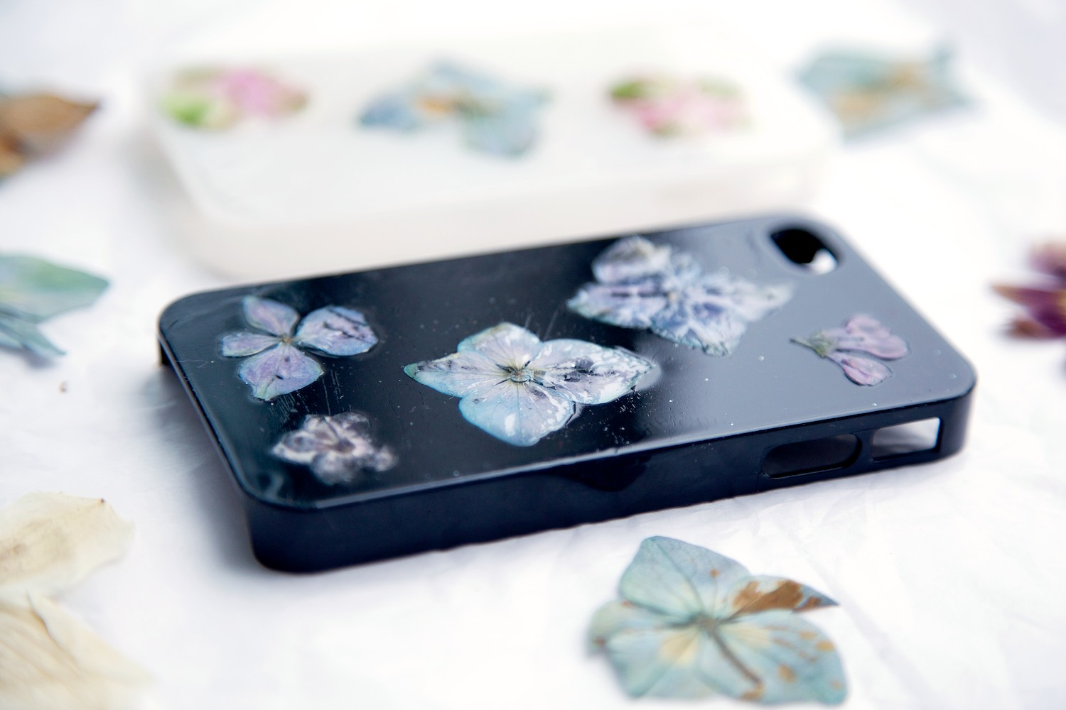 Real Flower Phone Case