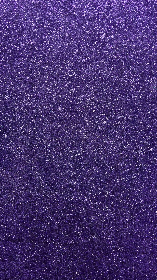 Purple Glitter Phone Wallpaper