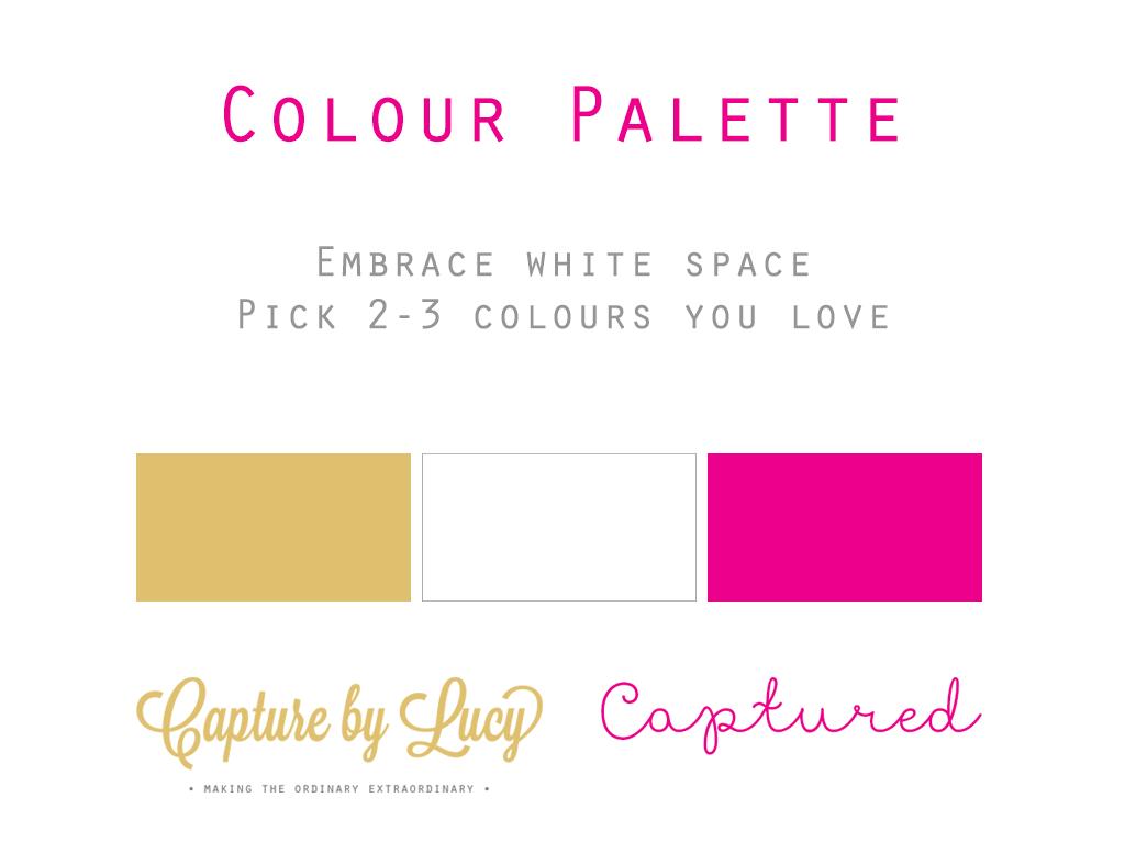 Blog Colour Palette
