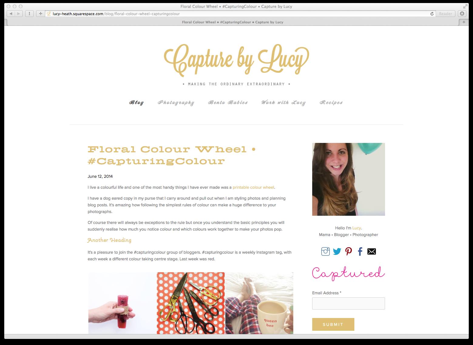 Blog Typography