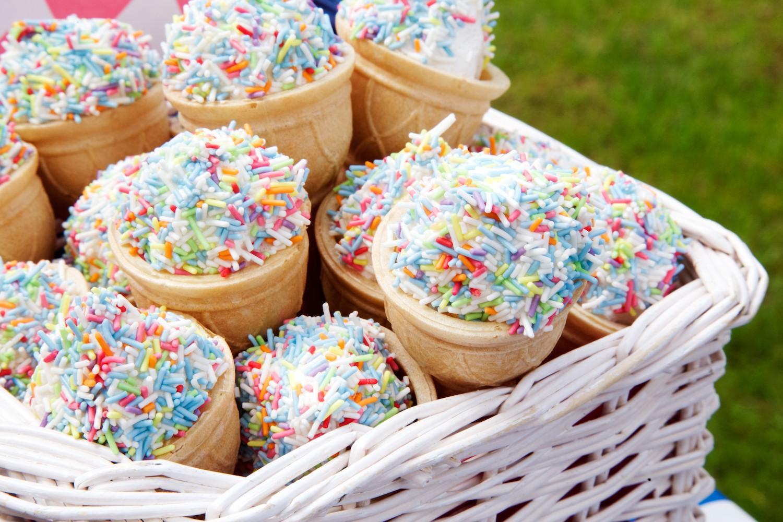 Marshmallow ice creams
