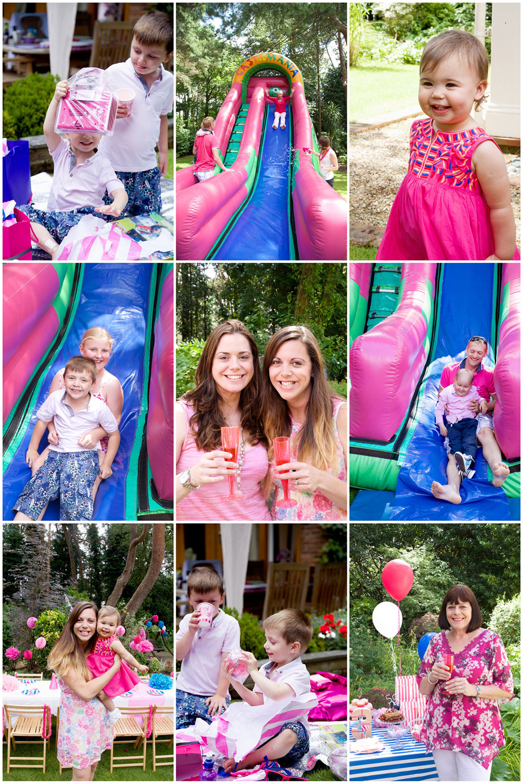 Pink Pool Party