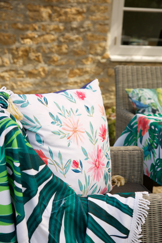 floral garden cushions
