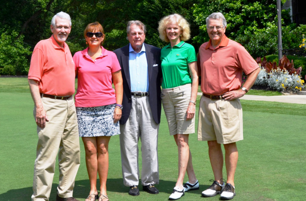 Founding Members (left to right) Bruce Hunt, Peggy McCormick, Tim Toler, Barbara Howell and Tony Smith