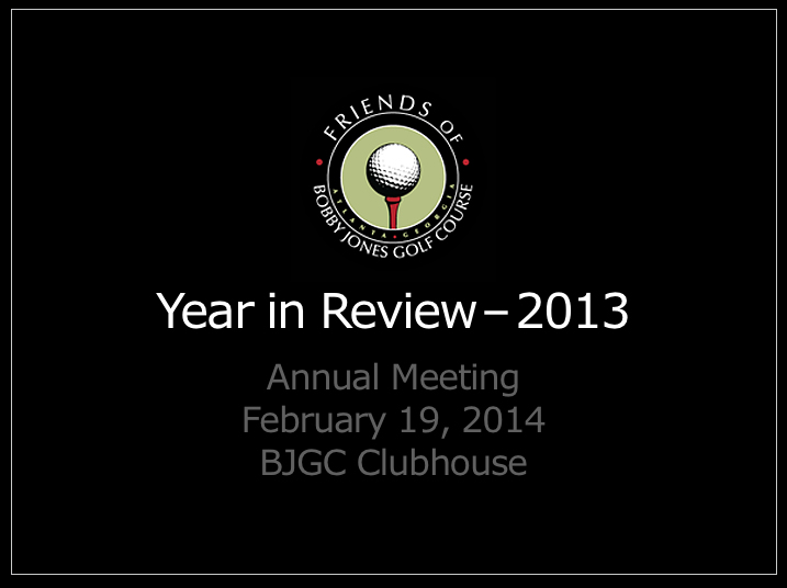 CLICK HERE FOR LINK  TO PDF OF THE 2013 ANNUAL REPO