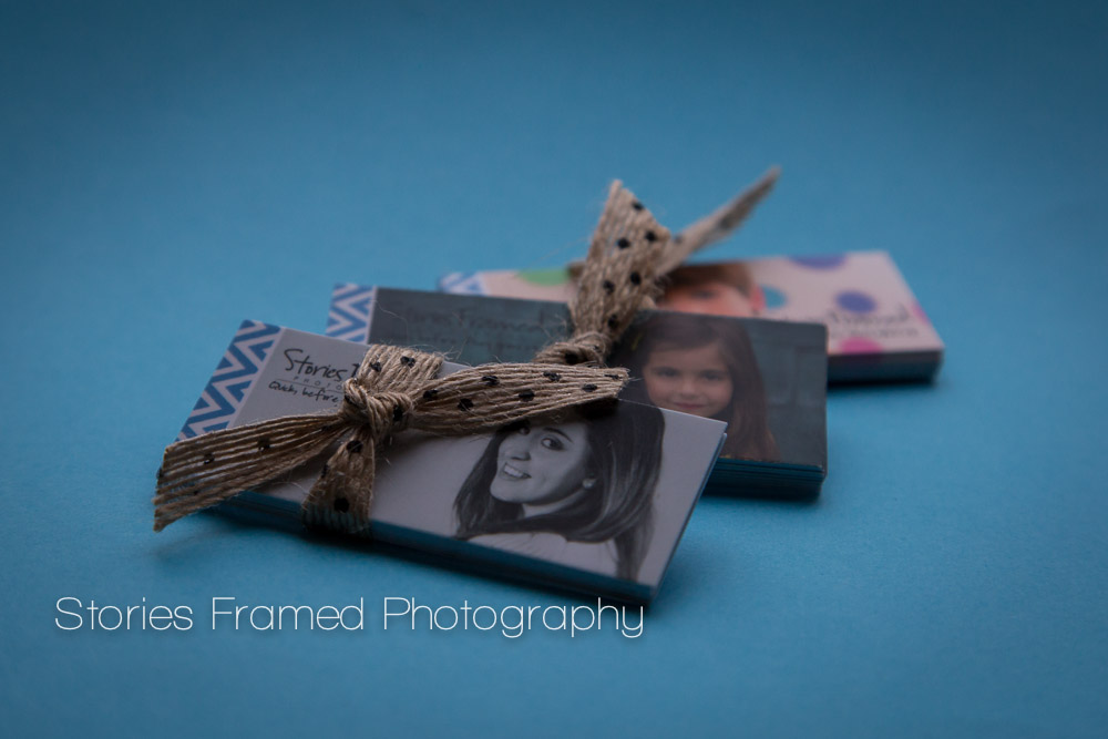Stories Framed Photography Referral Mini Cards