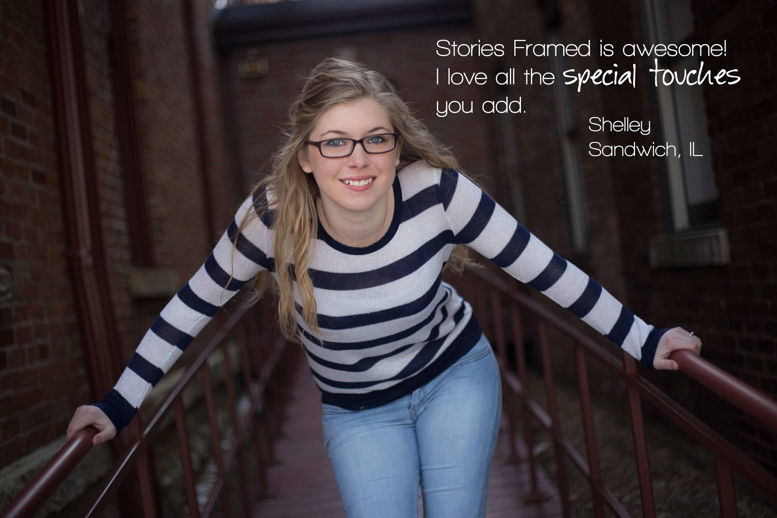 Stories Framed Photography | Senior Portraits | Hayley | Sandwich, IL