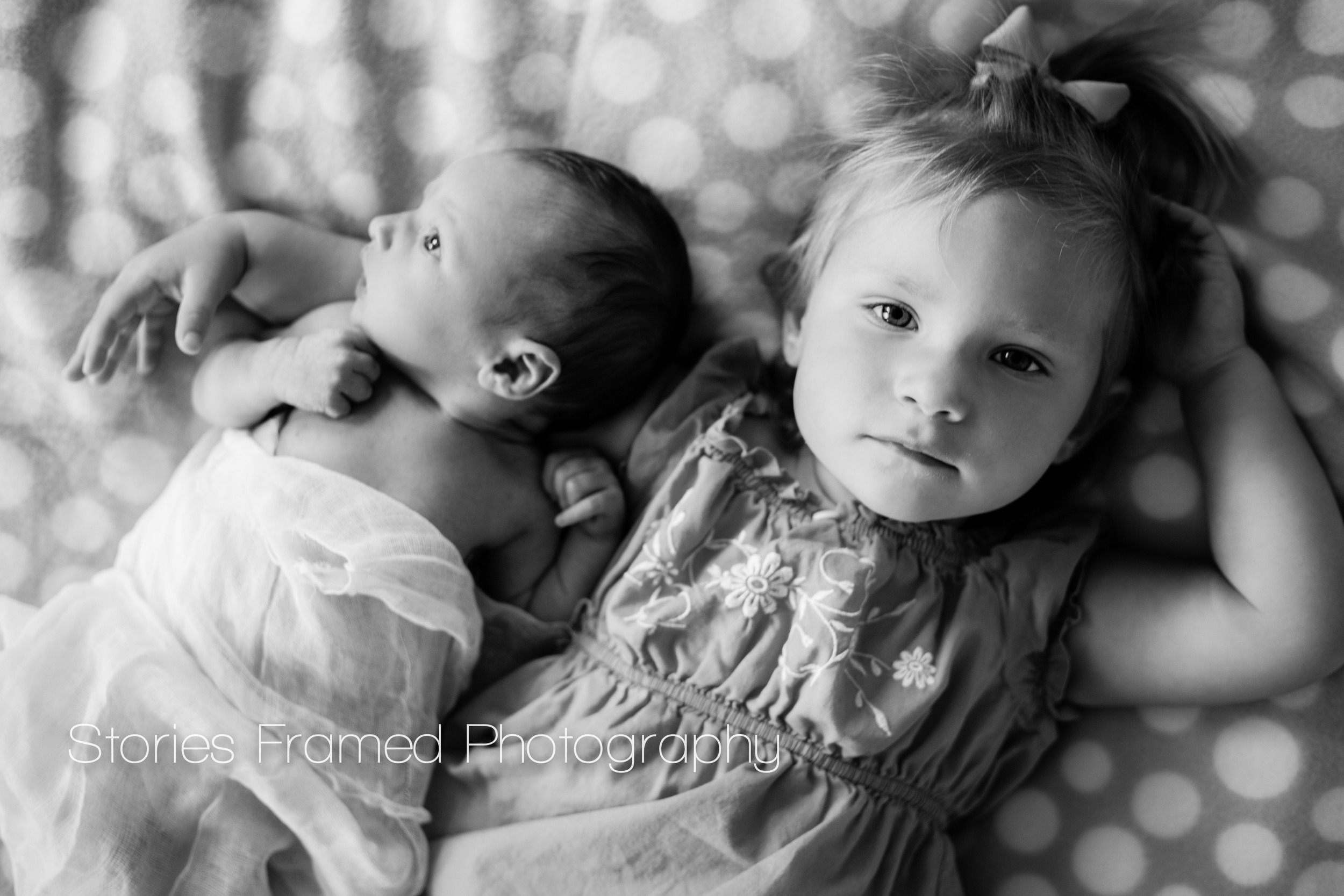 Stories Framed Photography | baby sister | baby and kid photography