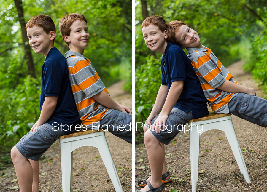 Stories Framed Photography | how to photography twins