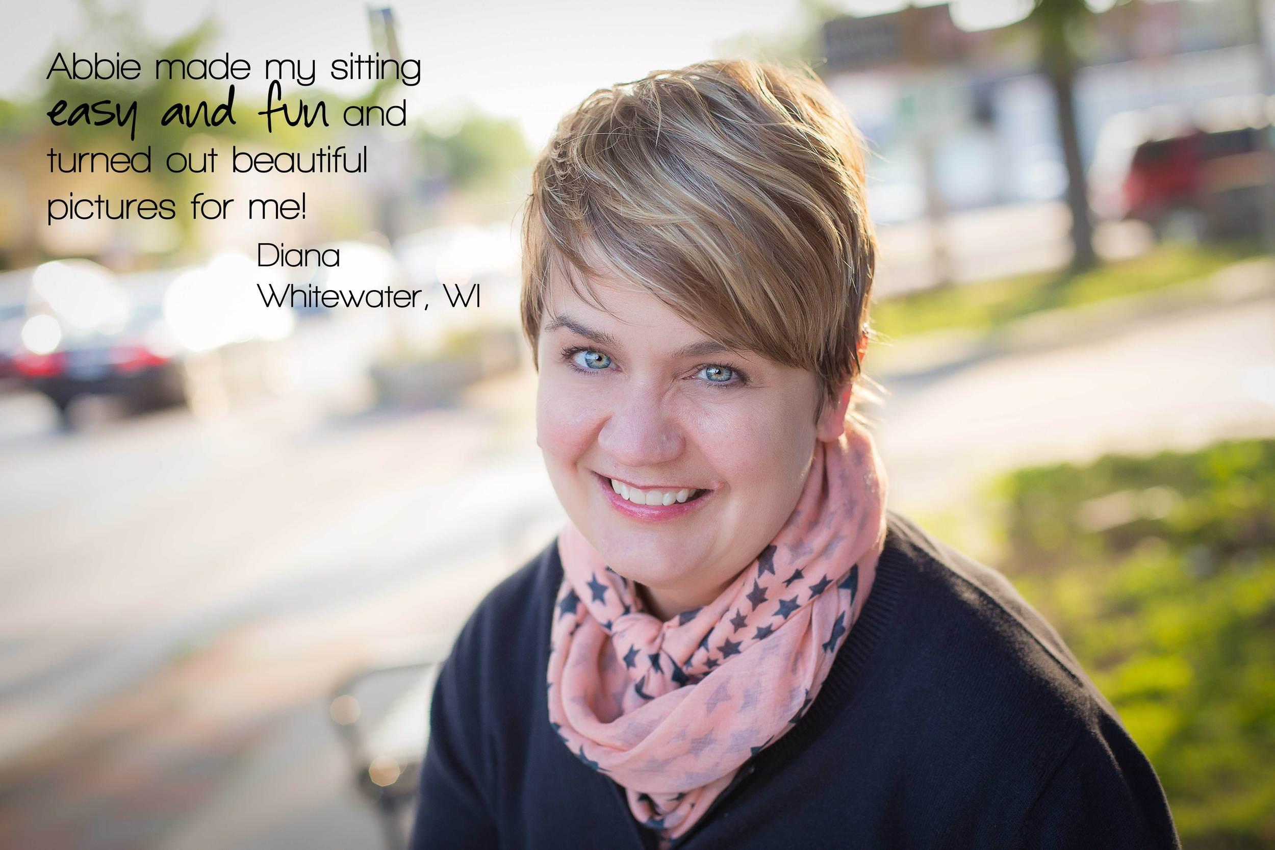 Stories Framed Photography | Testimonial | outdoor headshot | Milwaukee | Whitewater