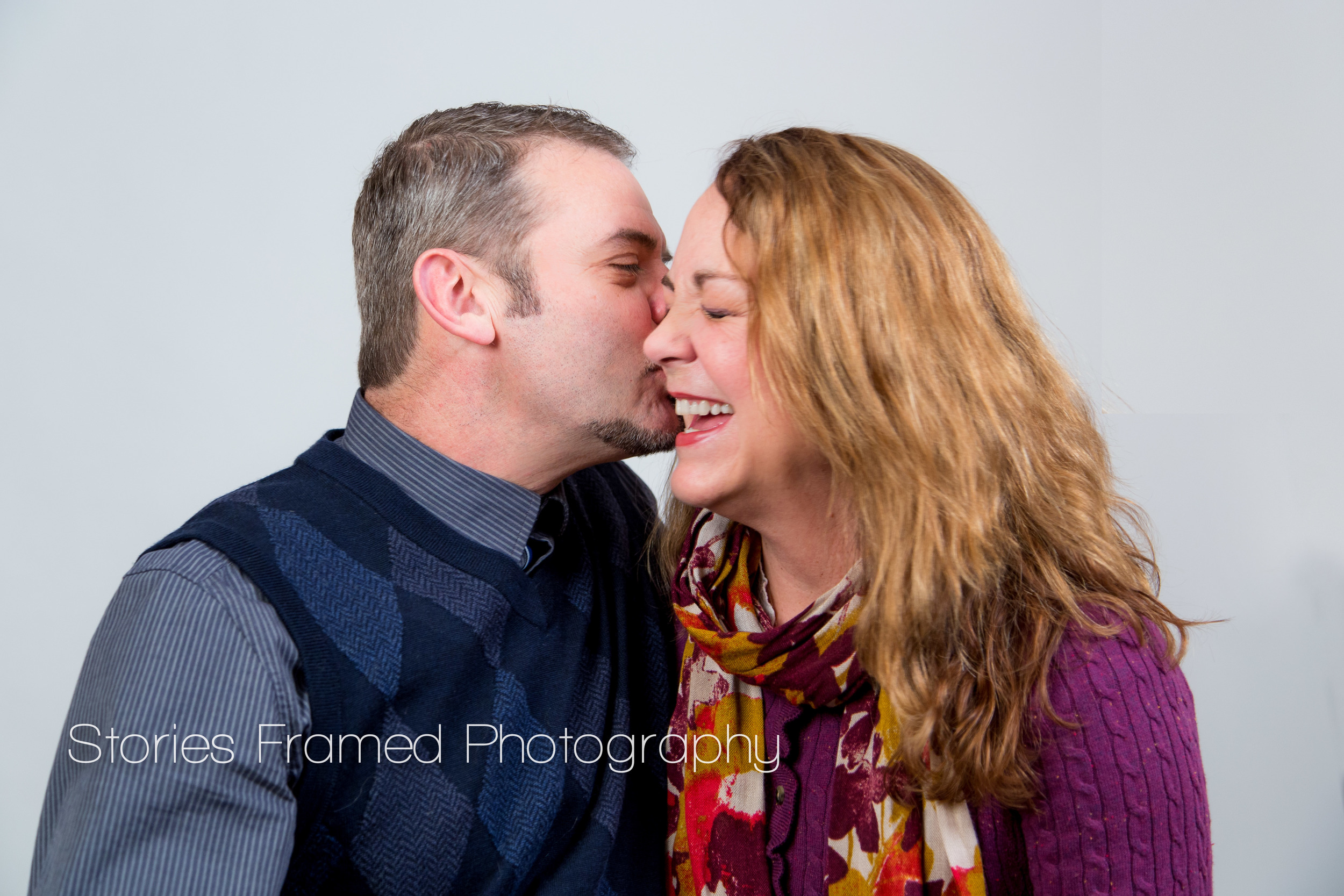This lovely couple was relaxed and happy - and it shows! That's a real, genuine smile.