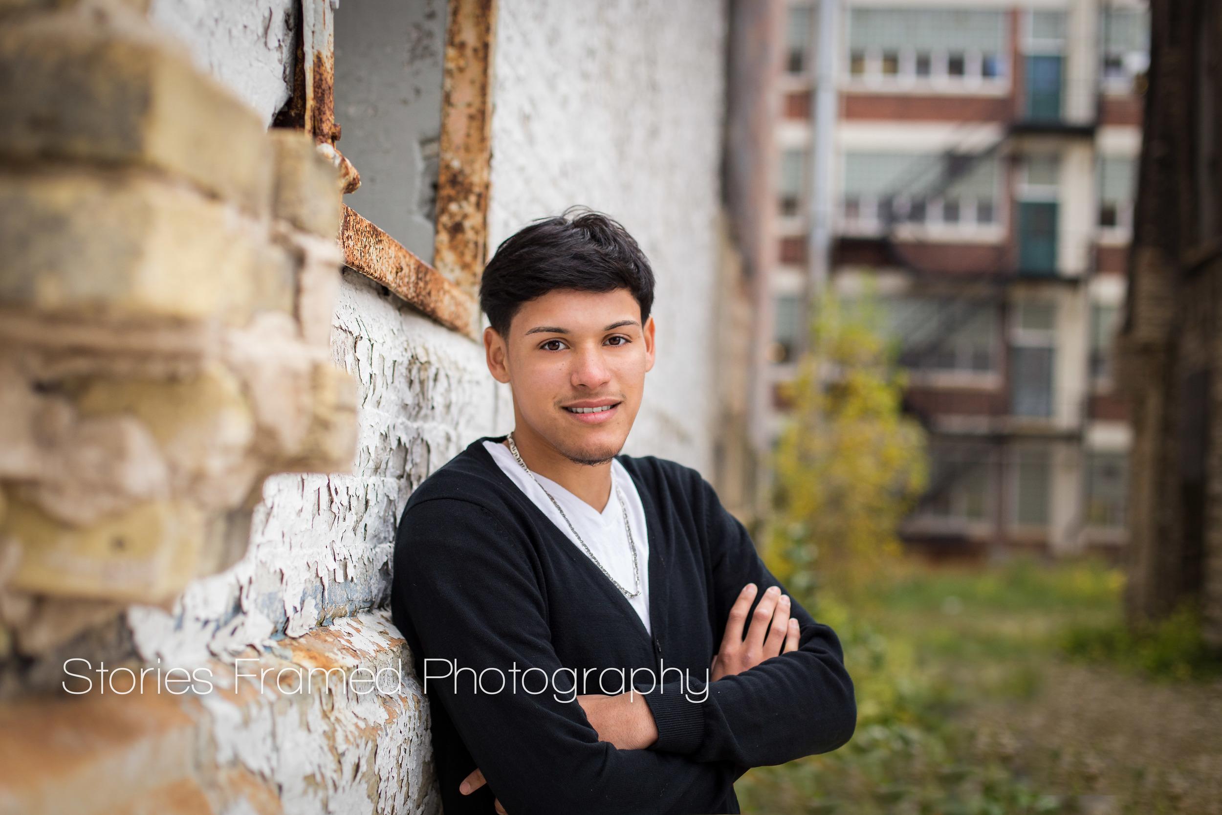 Stories Framed Photography | Milwaukee senior portraits | class of 2015