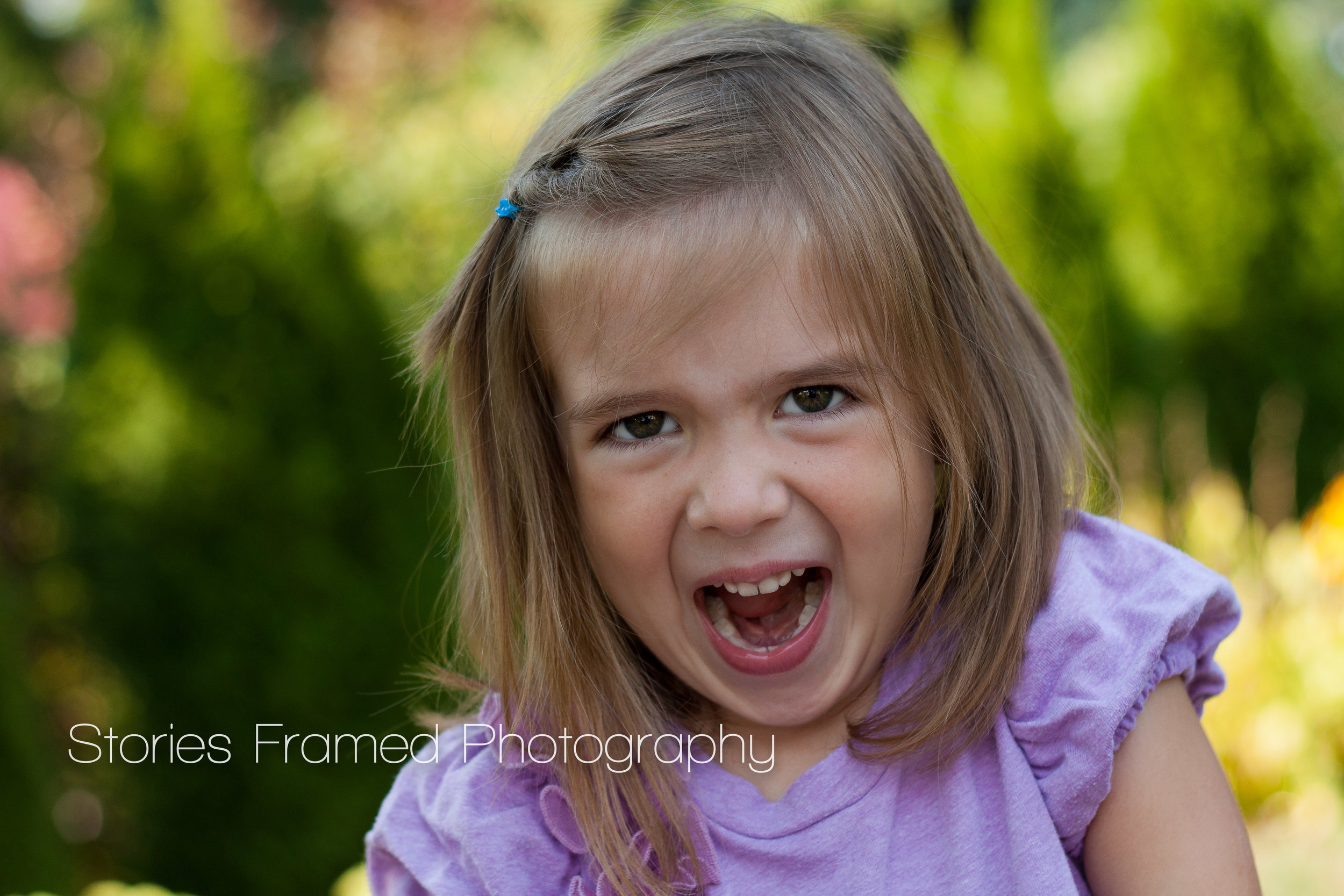 Stories Framed Photography | little kids funny faces | Brookfield Wauwatosa WI family photographer