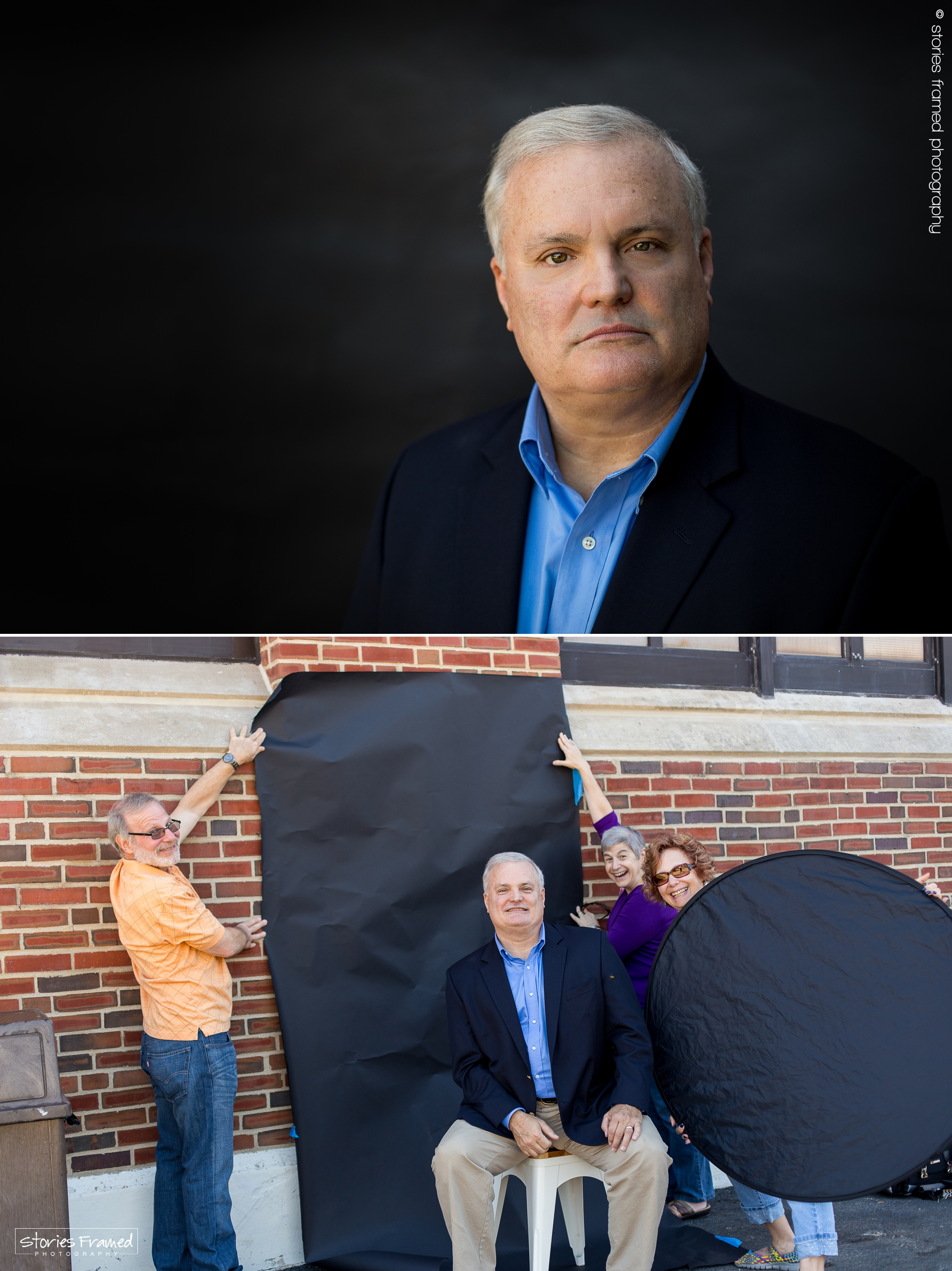 Stories Framed | author headshots | behind the scene | bts