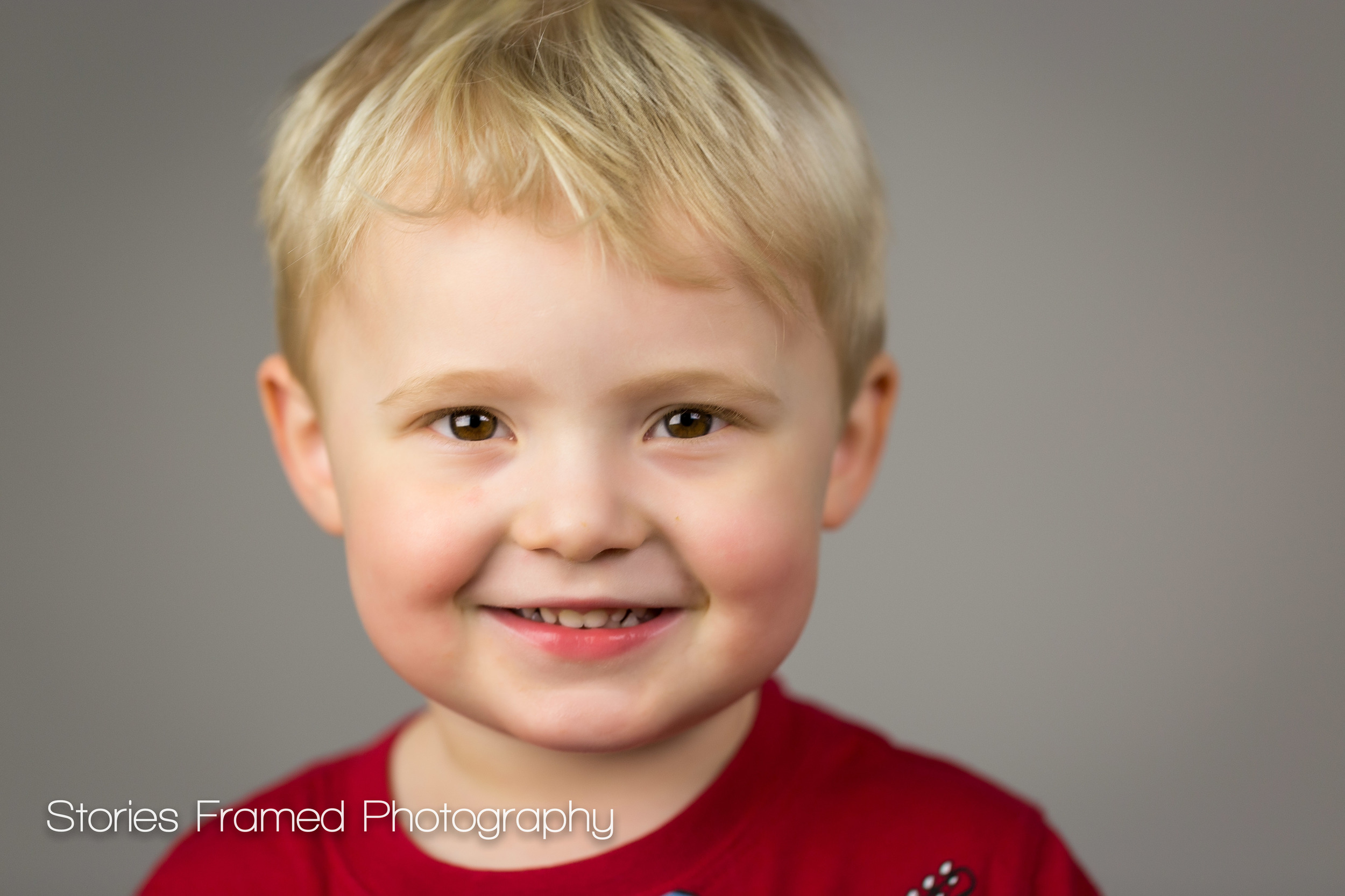 Ian | cute kid headshots | Stories Framed