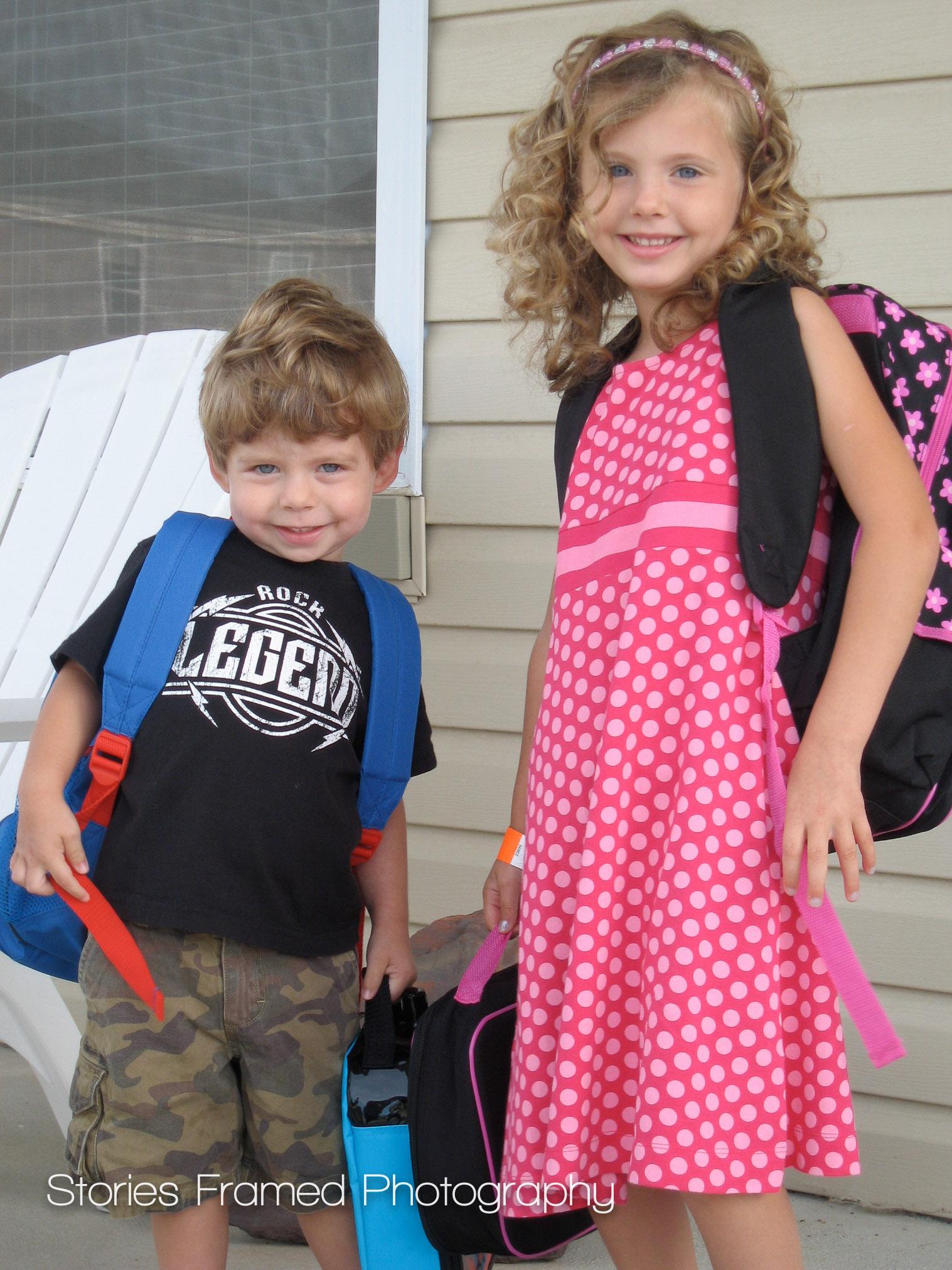 2008 | Sammie in Kindergarten in Omaha