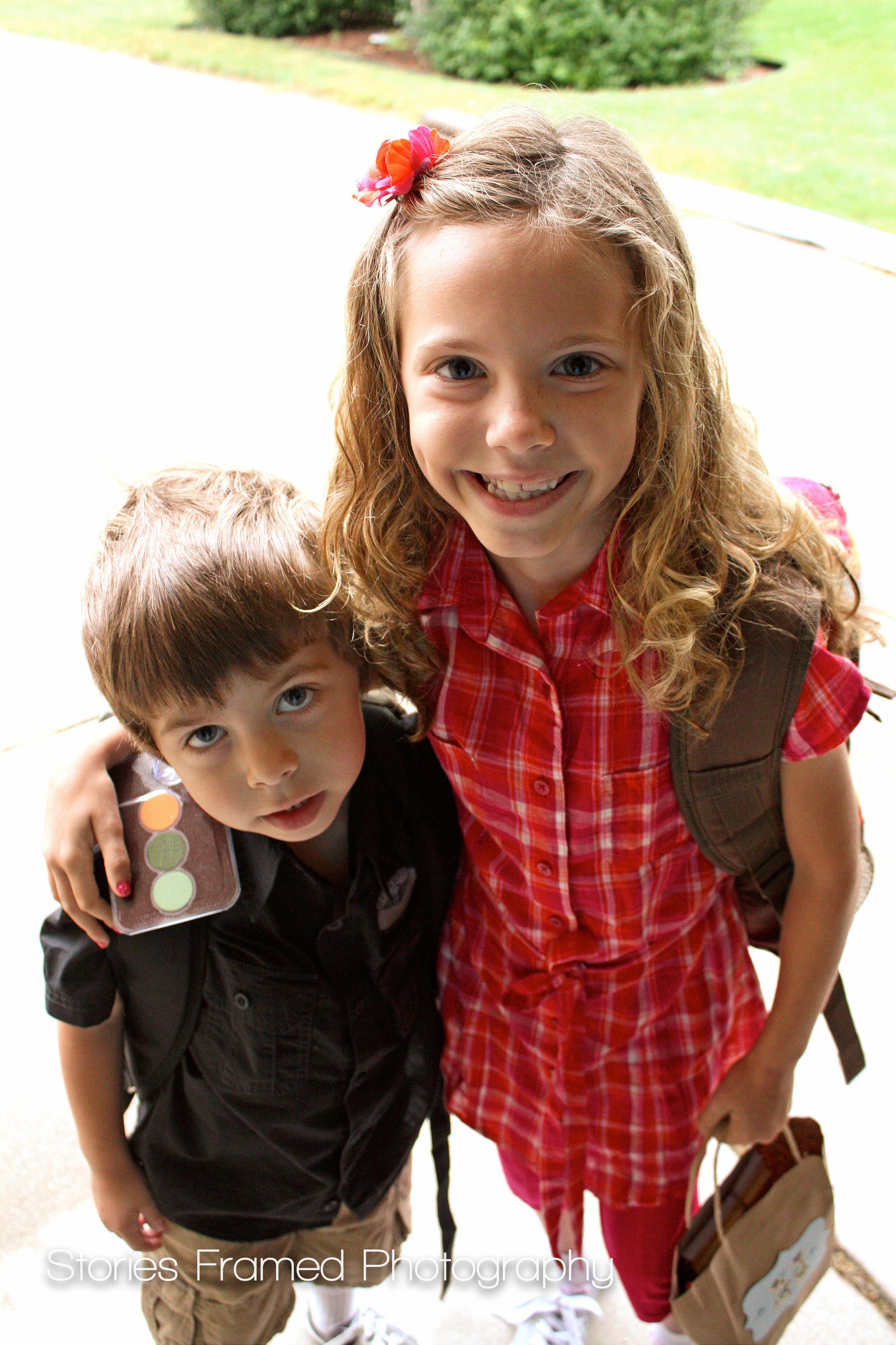 2010 | Sammie in 2nd grade, David in 4K