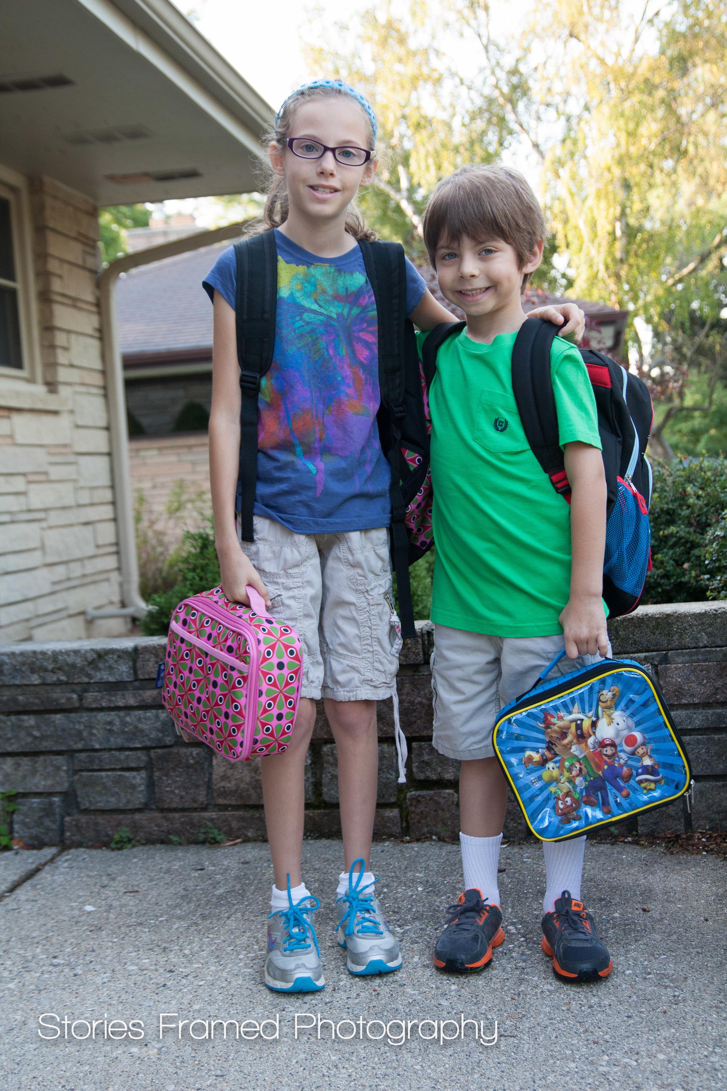 2012 | Sam in 4th, David in 1st