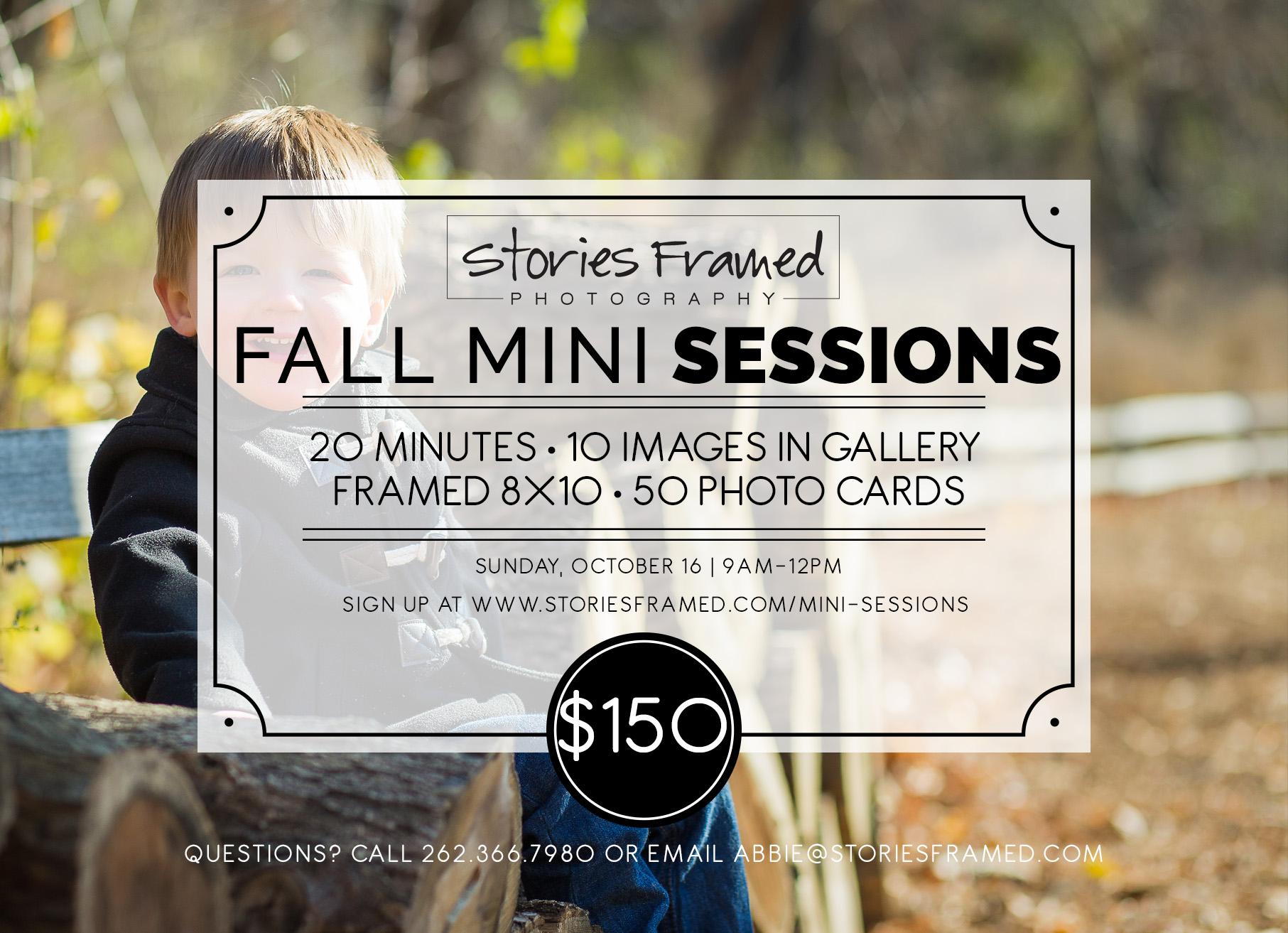 Wauwatosa Fall Family Mini Sessions