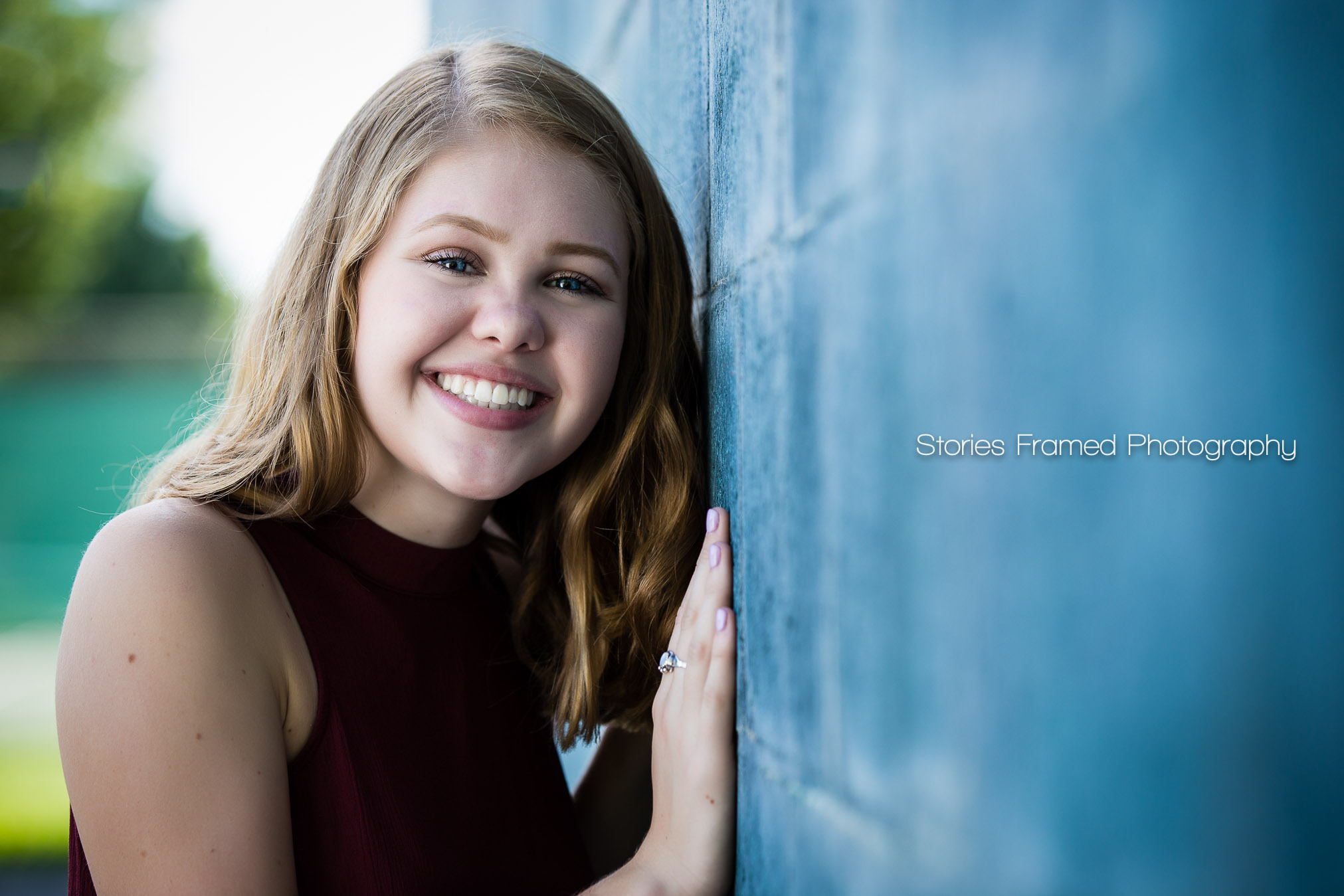 Tosa East HS class of 2017 senior smile Emma
