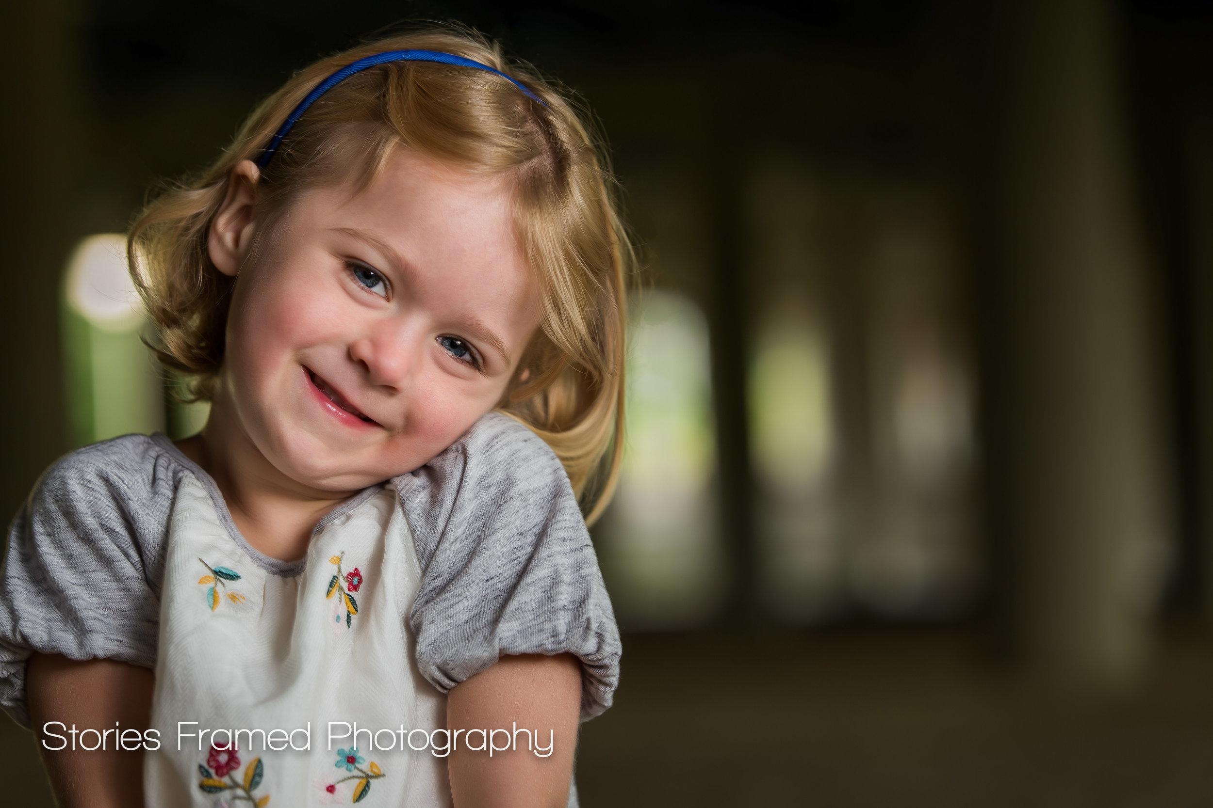 Wauwatosa Child Photography little girl shrugs