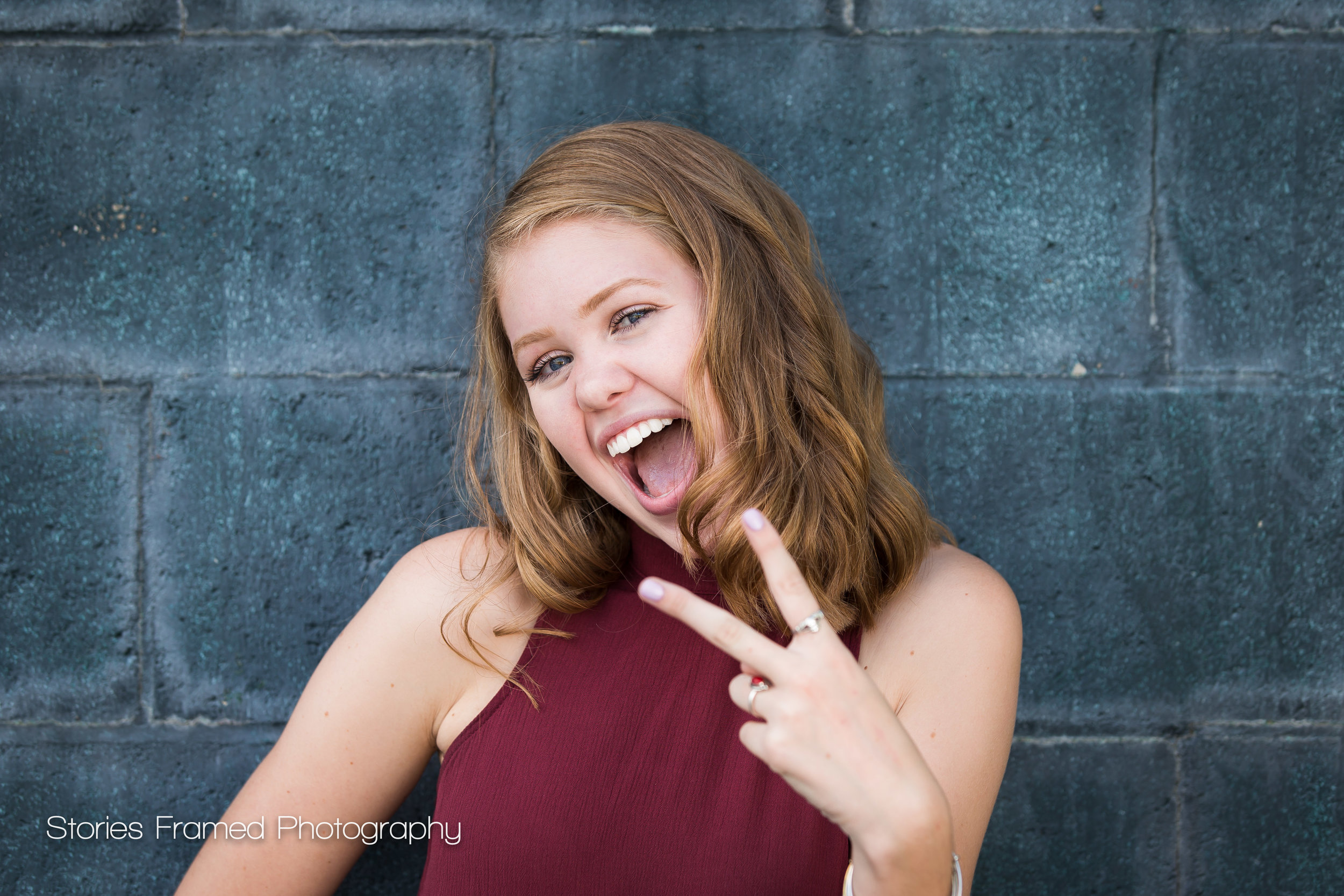 MKEseniors | Emma | class of 2017 peace out