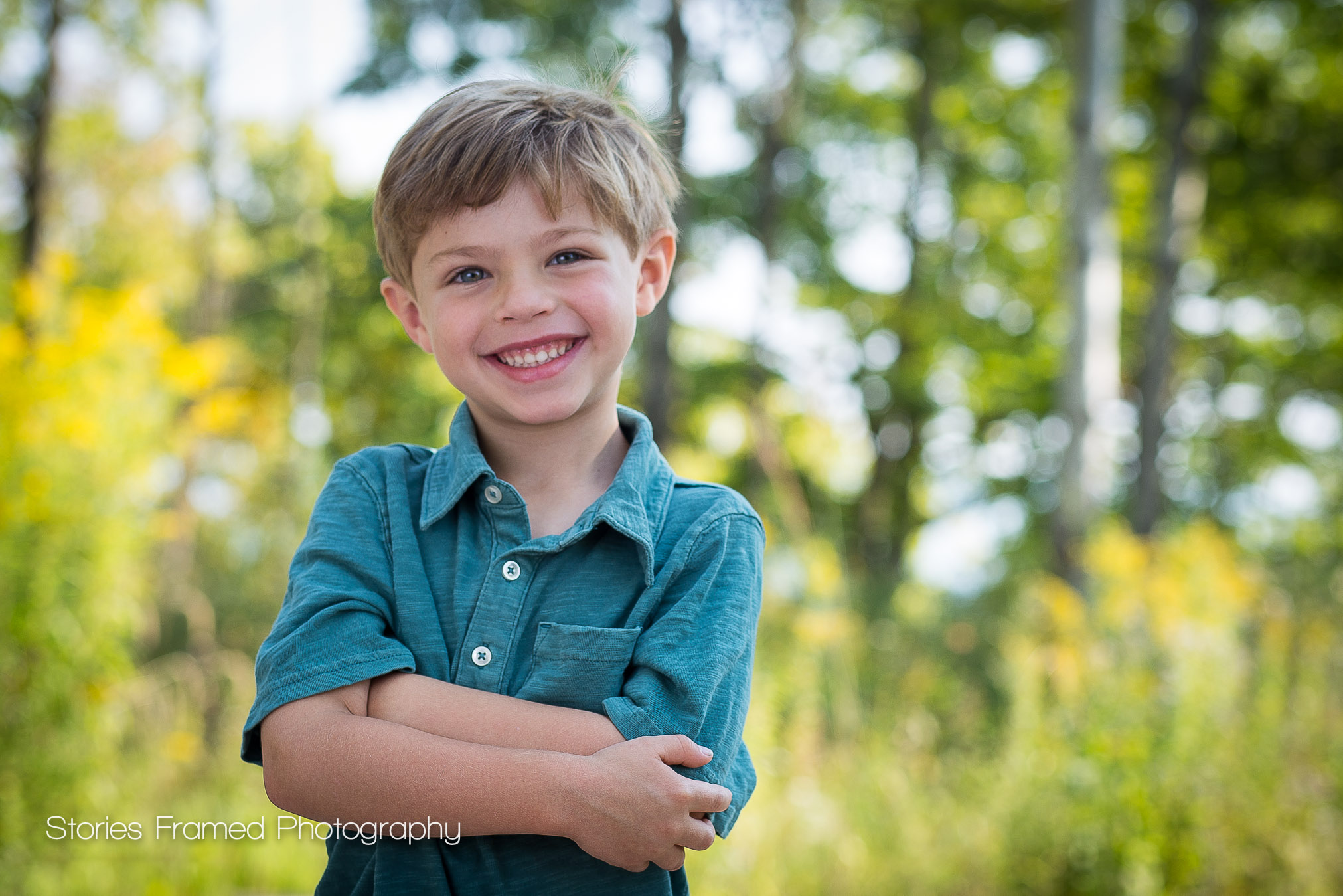 Sneak Peek Little Boy Portrait