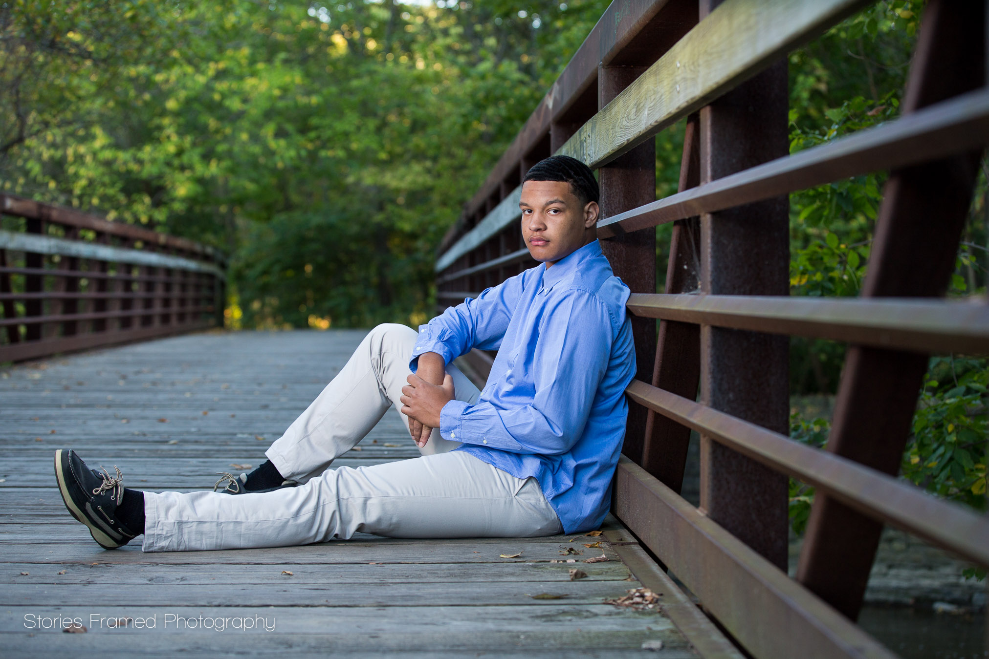 Wauwatosa West senior in the park