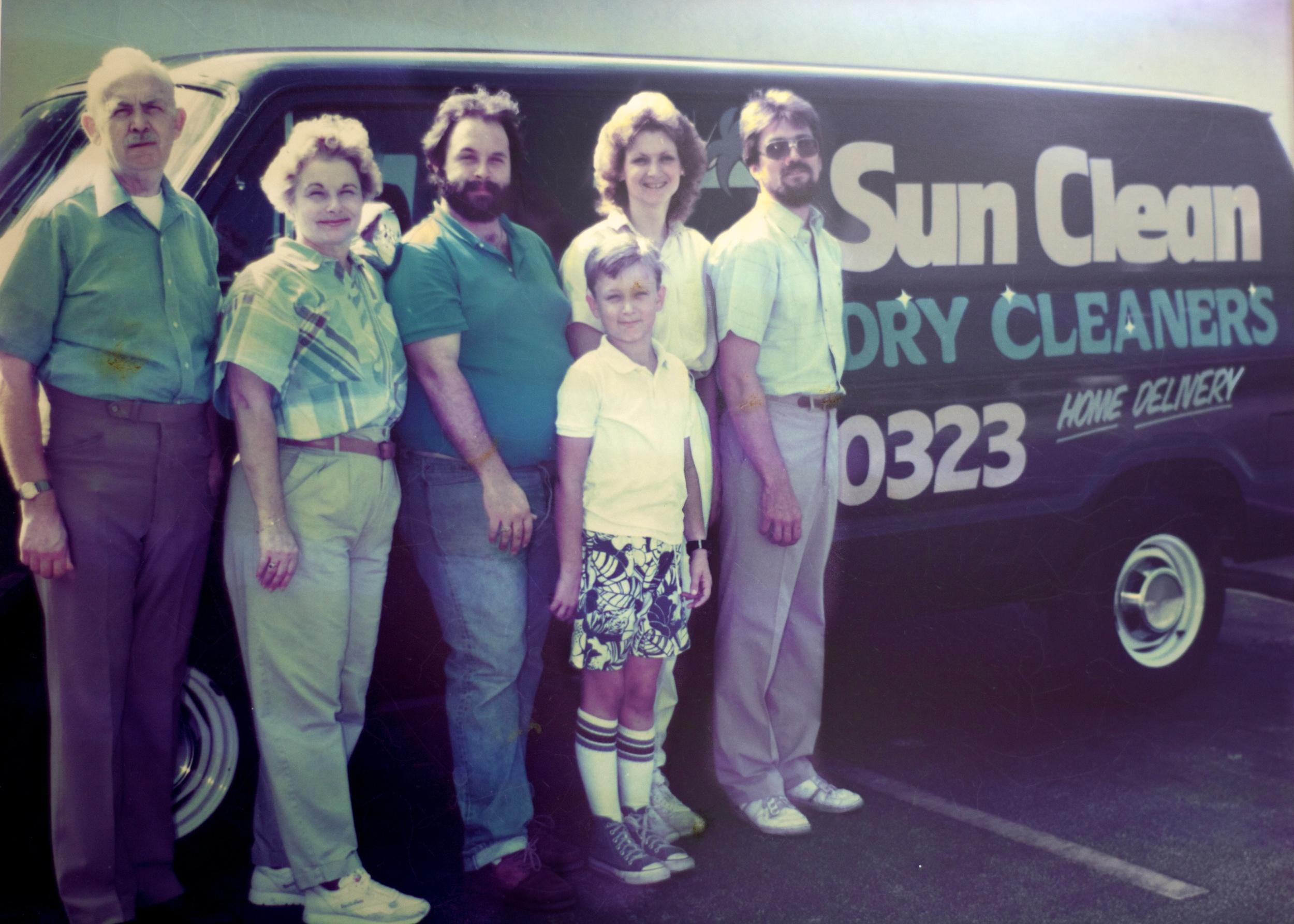 Frank, Dot, Mark, Josh, Barb and Joe in 1987