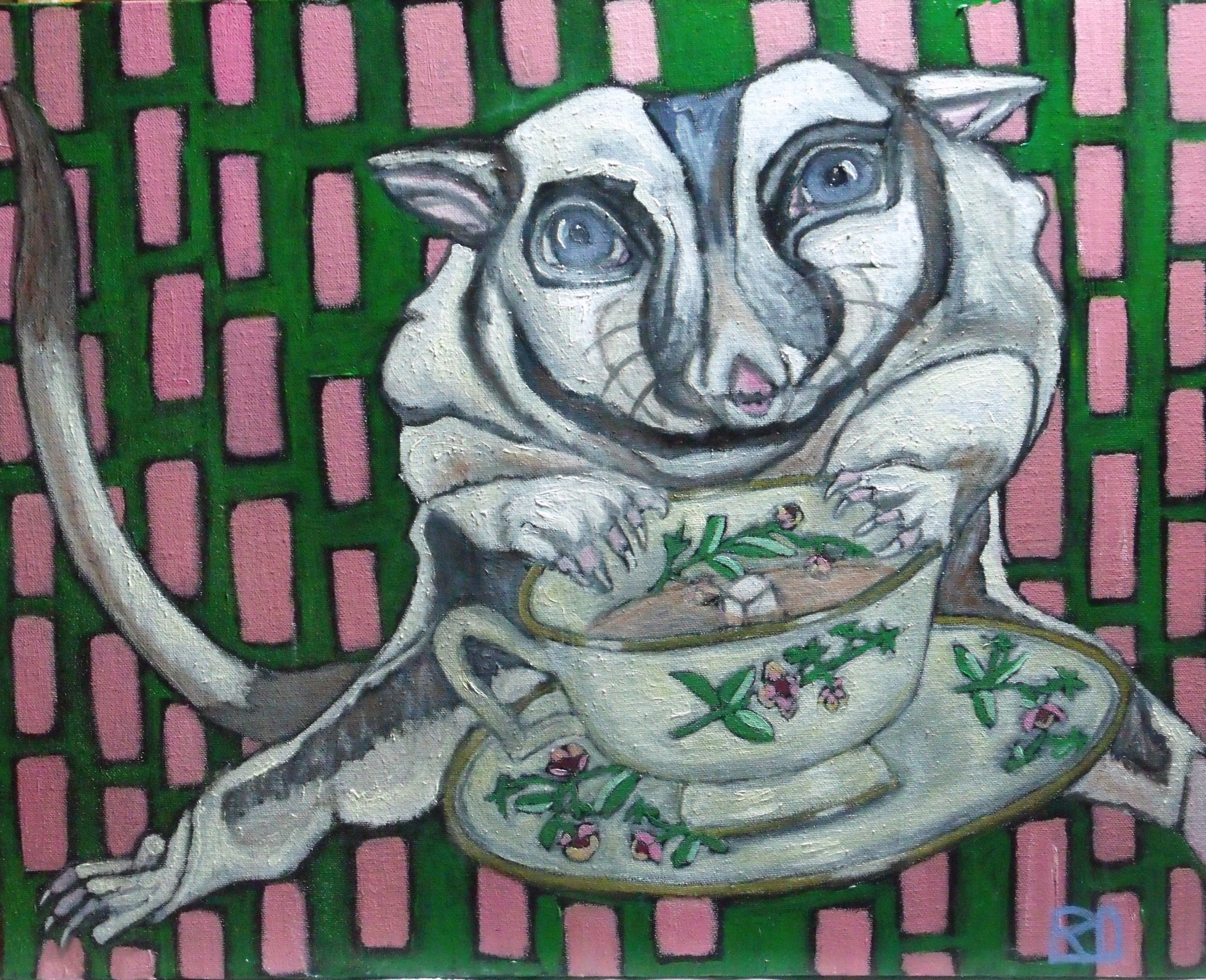 """""""Your Invitation to Tea"""" by Yvonne Bouchard."""