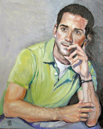Drew Canfield by Michael Torma at the Norsworthy Gallery in Shreveport Louisiana
