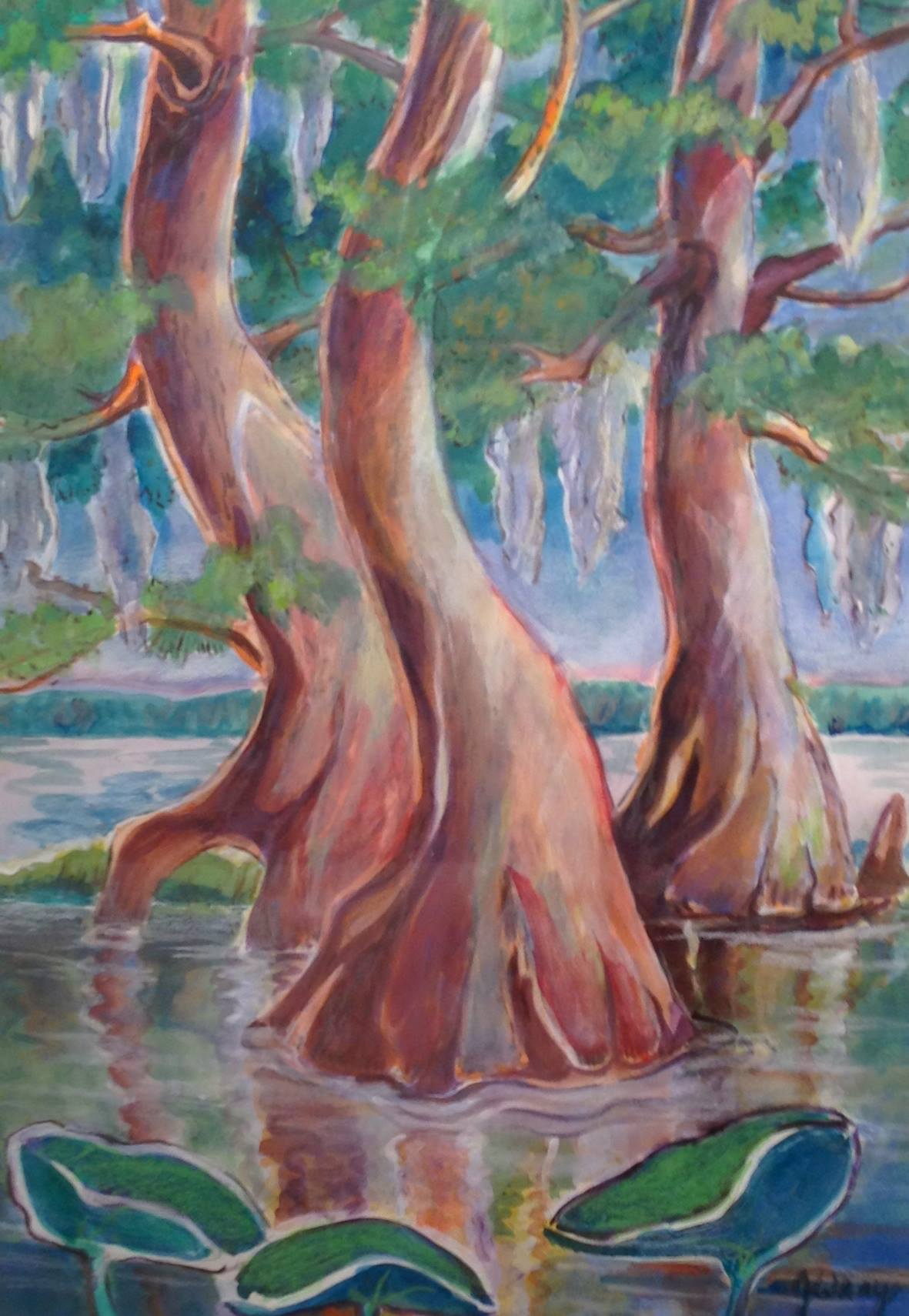 """""""Dancing Cypress"""" by Jerry Wray"""
